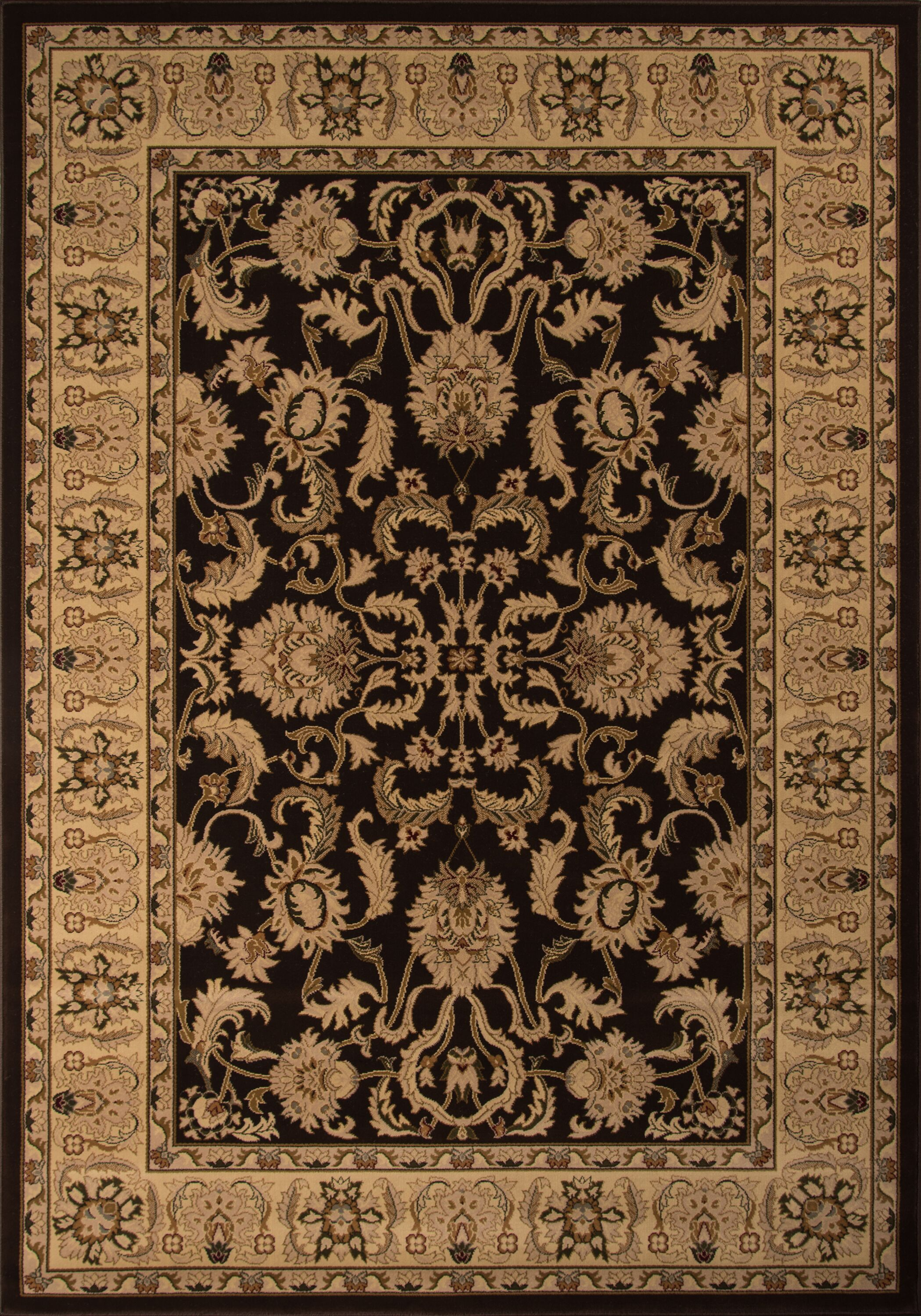 Mira Monte Brown Area Rug Rug Size: Rectangle 9'10