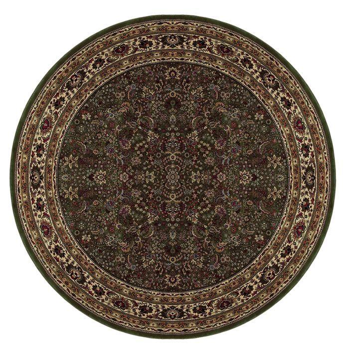 Shelburne Traditional Brown Area Rug Rug Size: Rectangle 6'7