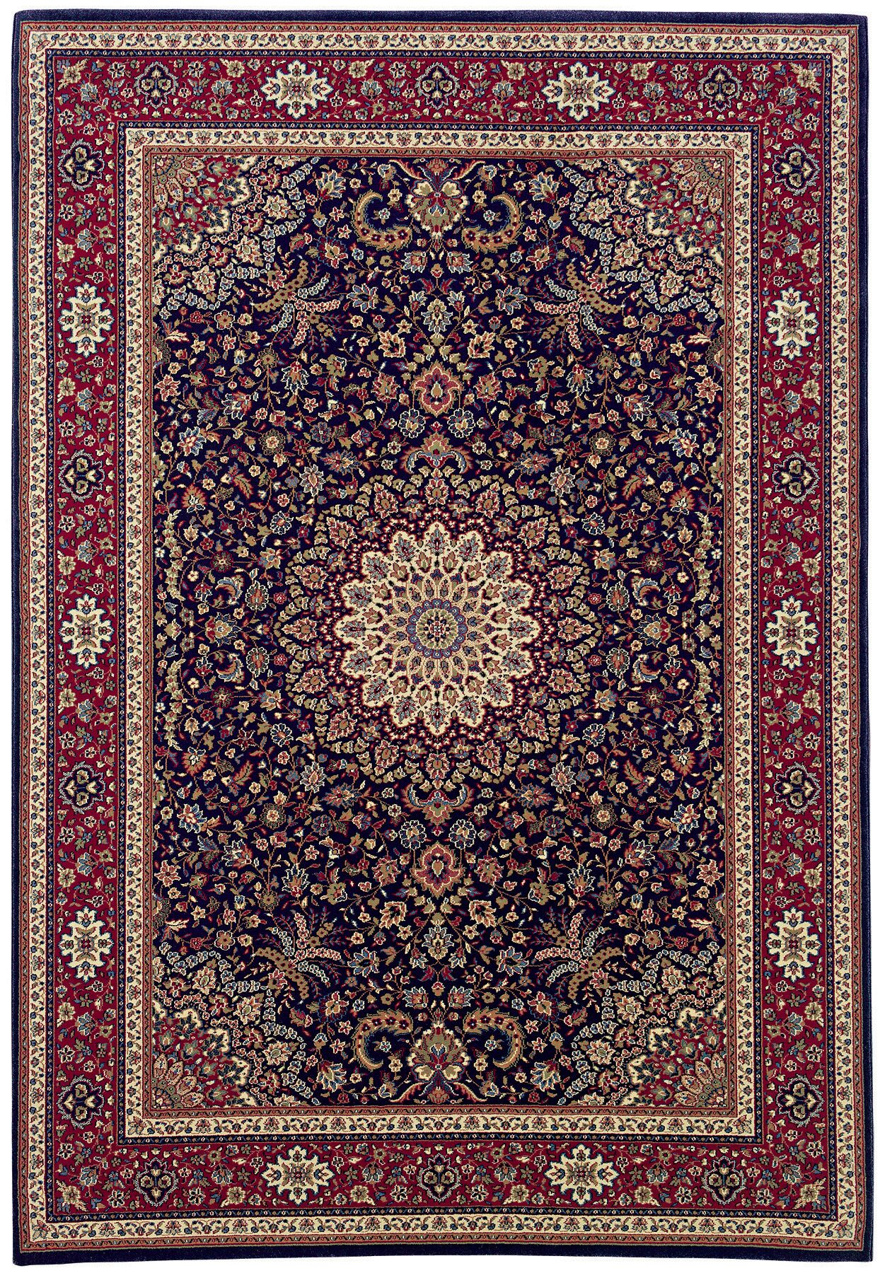 Shelburne Traditional Brown/Red Area Rug Rug Size: Runner 2'3