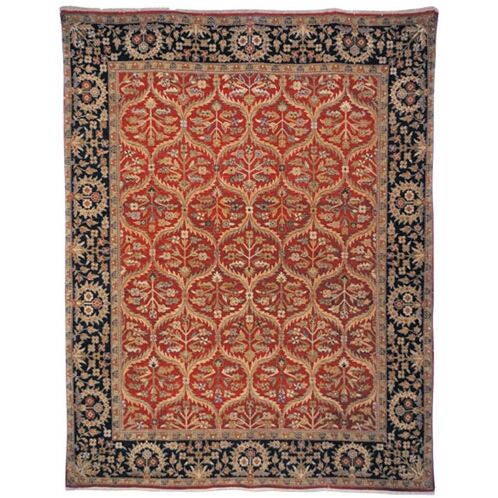 Belfield Amritsan Red Rug Rug Size: Rectangle 9' x 12'