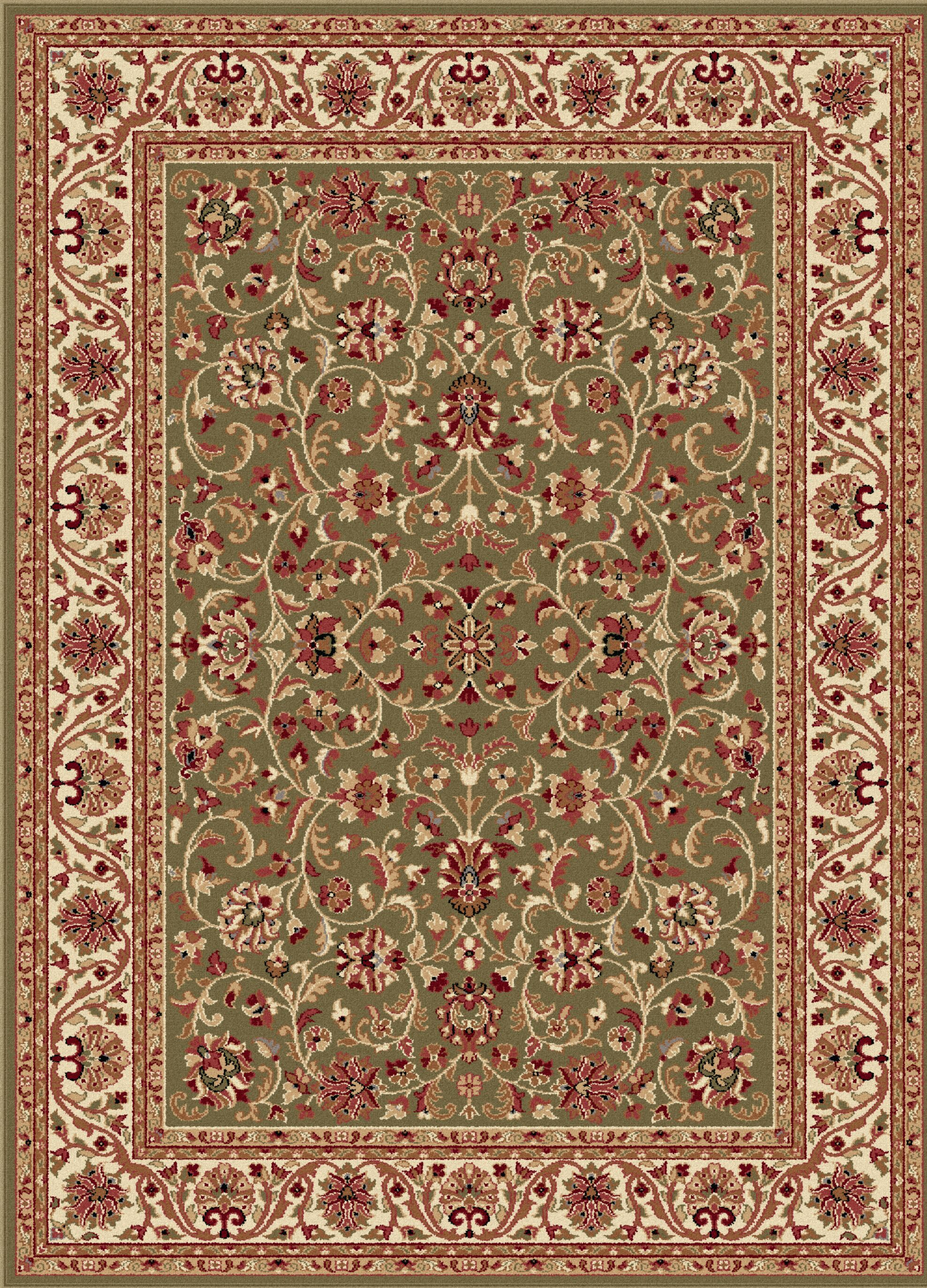 Clarence Green Area Rug Rug Size: 10'6'' x 14'6''