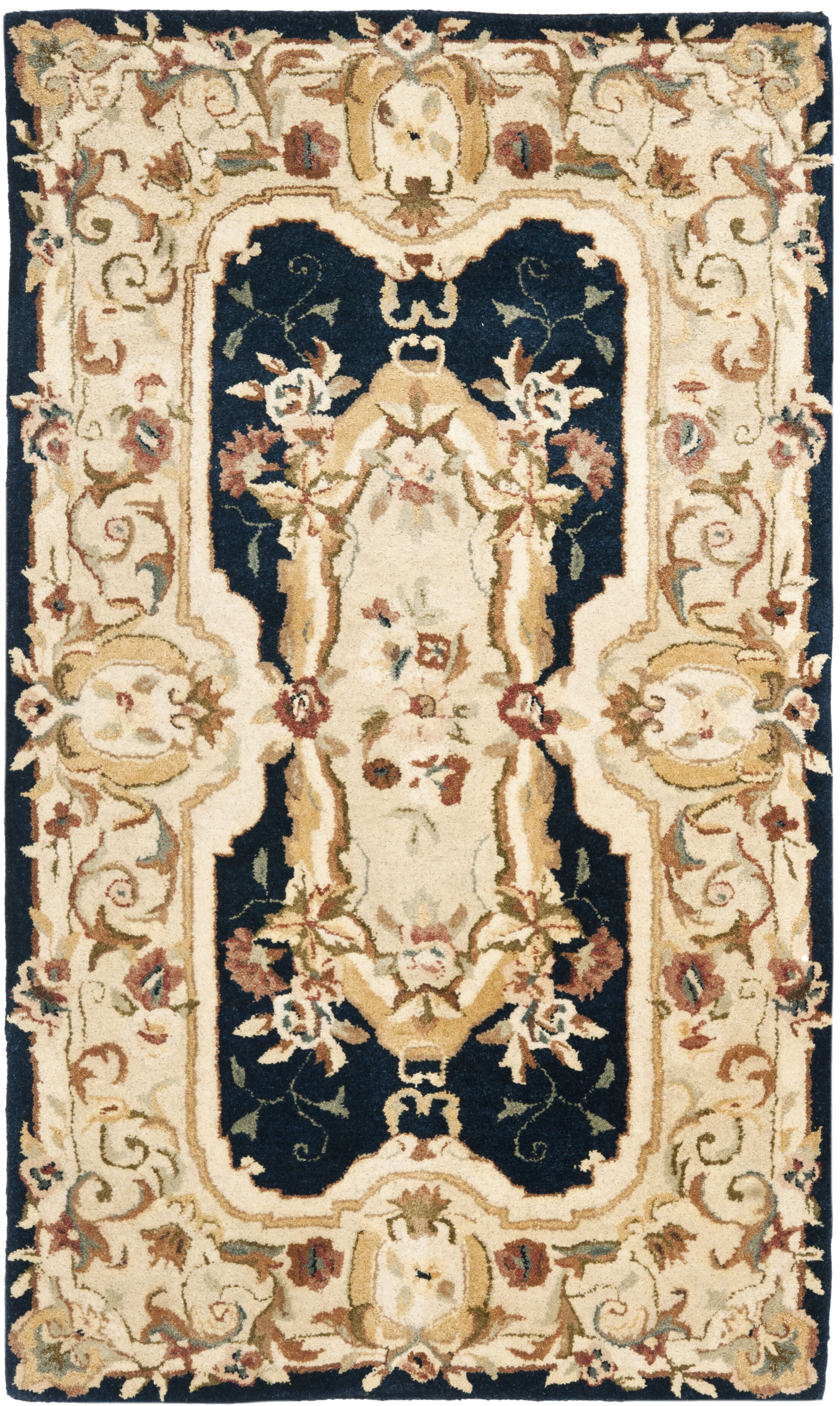 Bedgood Navy/Beige Area Rug Rug Size: Rectangle 8'3
