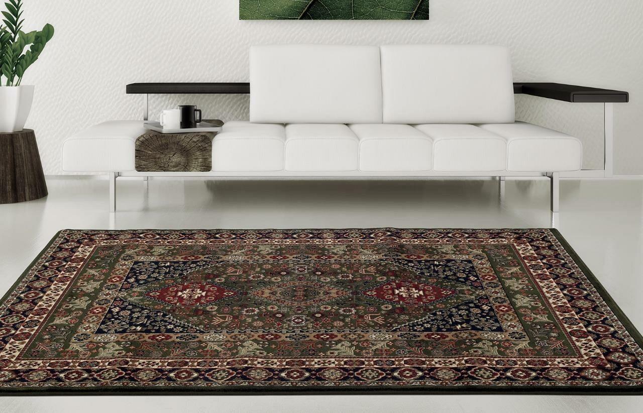 Gwinn Green  Indoor/Outdoor Area Rug Rug Size: 8' x 10'