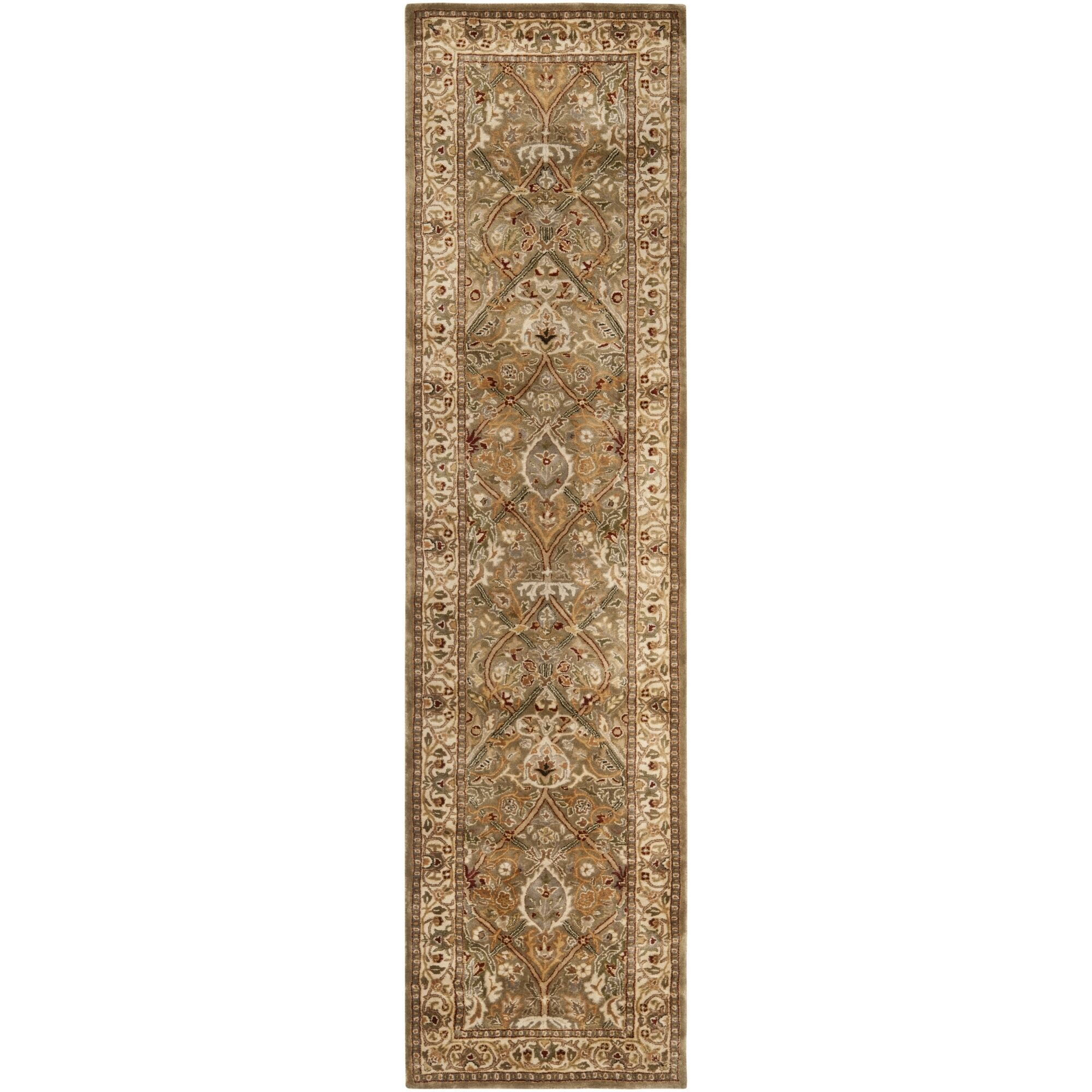Empress Wool Beige Area Rug Rug Size: Rectangle 2'6
