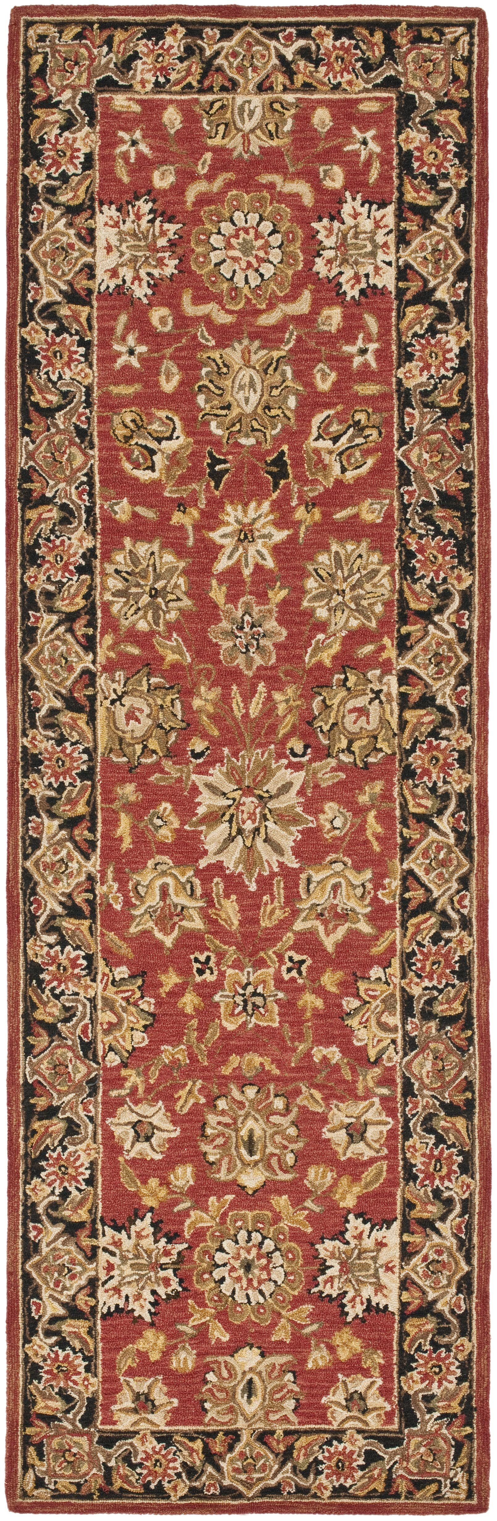 Weaver Red Rug Rug Size: Rectangle 6' x 9'