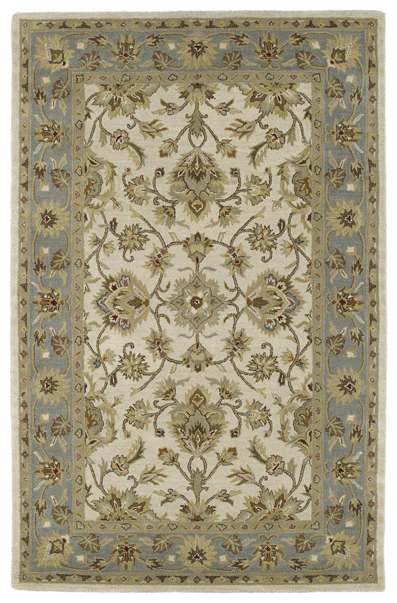 Pauline St. George Ivory Area Rug Rug Size: Rectangle 3' x 5'