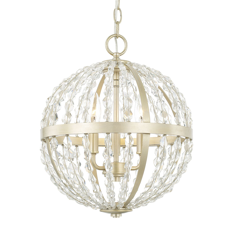 Balamine 3-Light Globe Chandelier