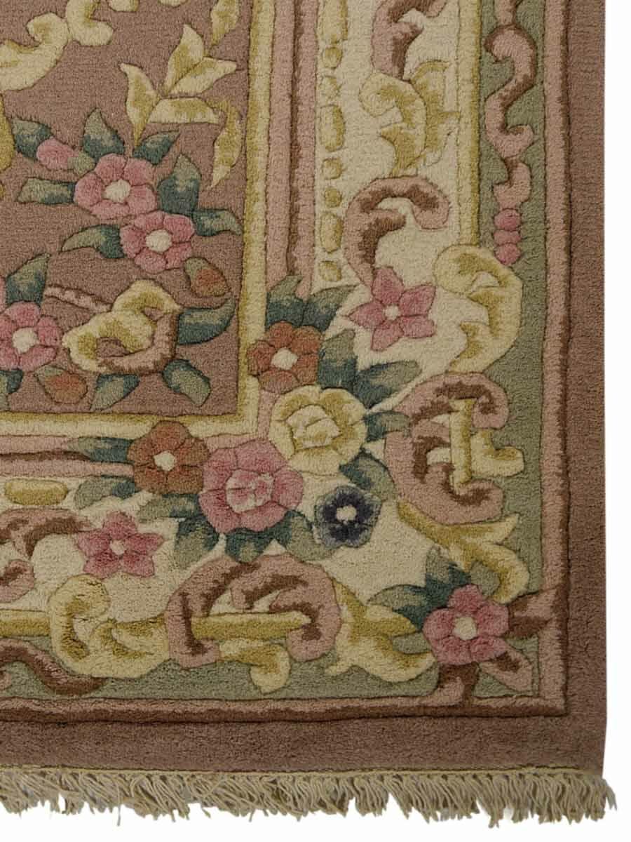 Shephard Hand-Woven Peach Area Rug Rug Size: Rectangle5' x 8'