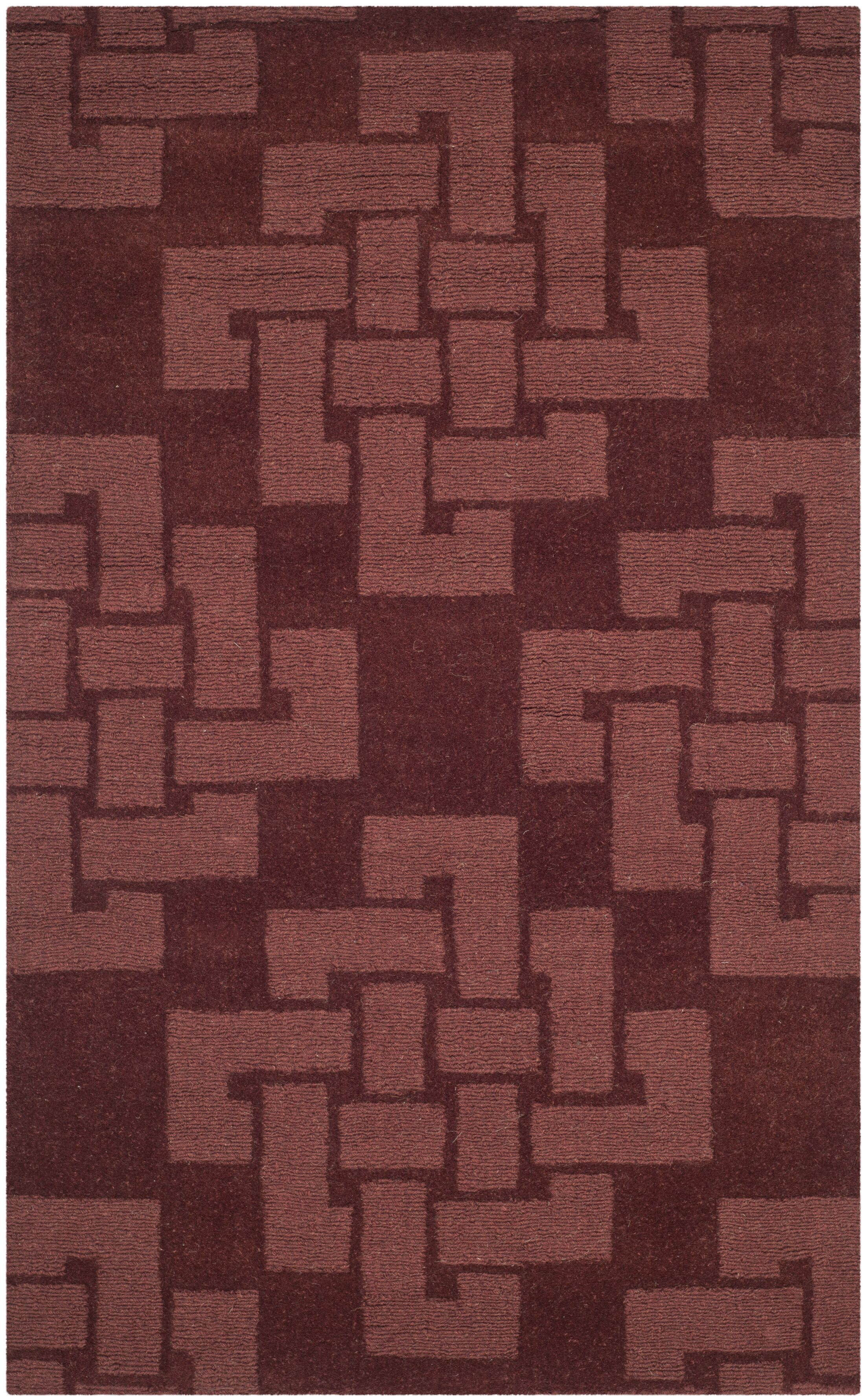 Knot Hand-Tufted Ceiling Wax Area Rug Rug Size: Rectangle 3' x 5'