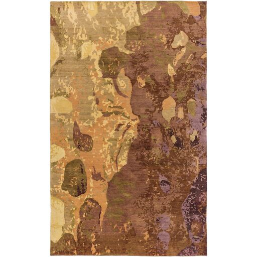 Concord Brown Area Rug Rug Size: Rectangle 8' x 10'