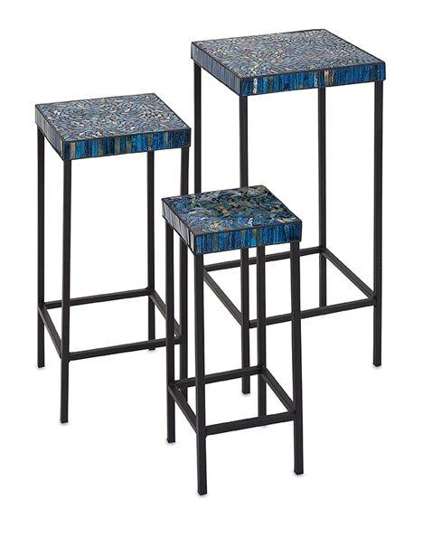 Arvizu 3 Piece Mosaic End Table Set