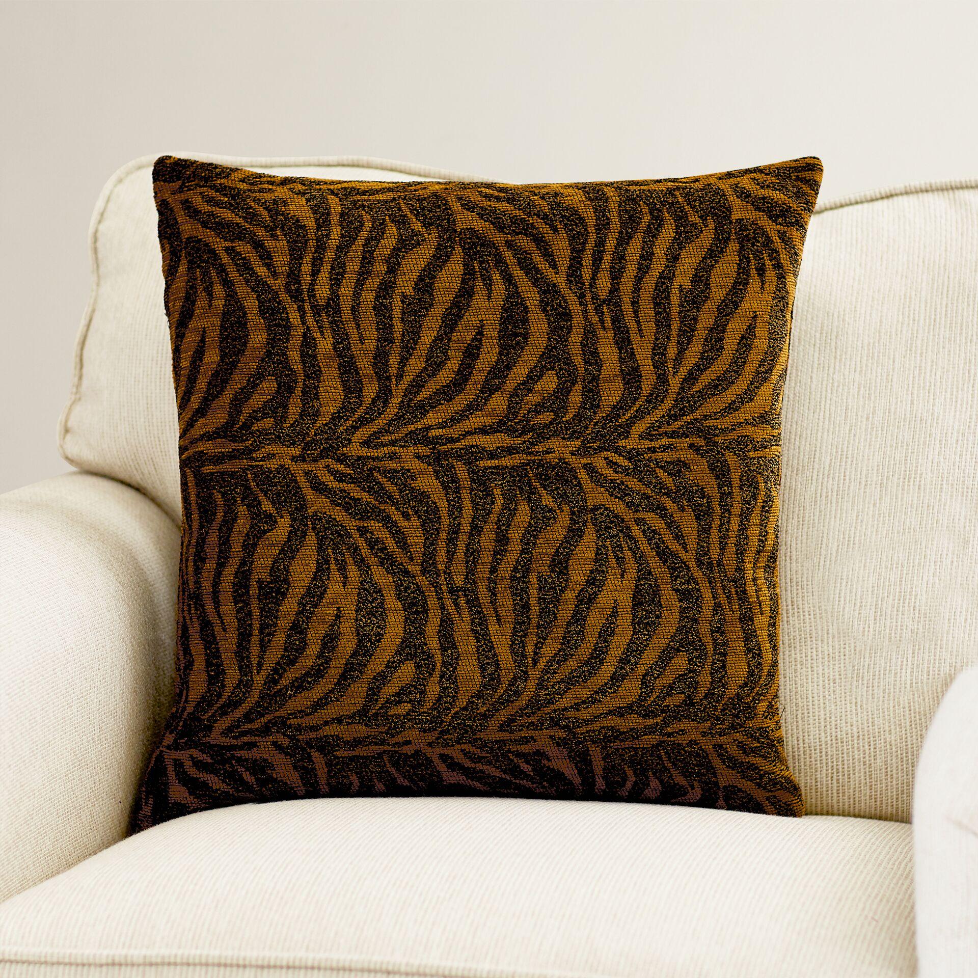 Tignall Animal Print Throw Pillow Size: 20