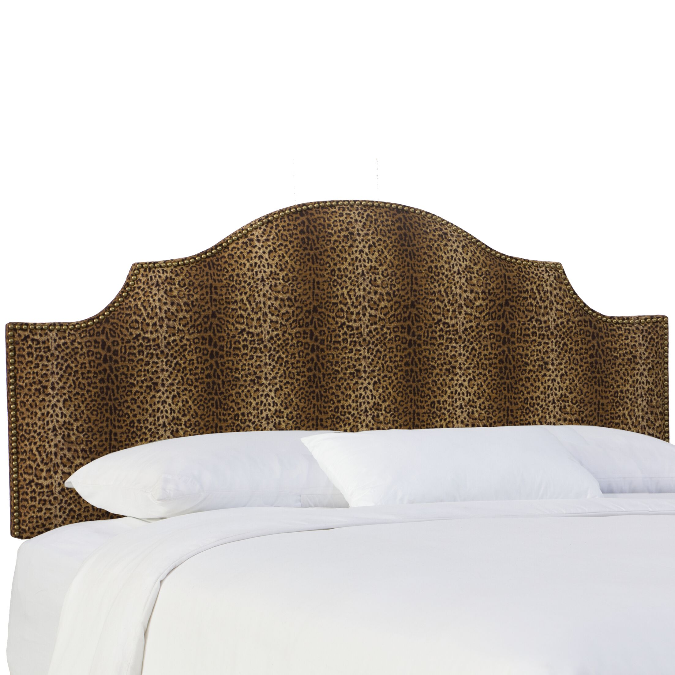 Graves Upholstered Panel Headboard Size: King