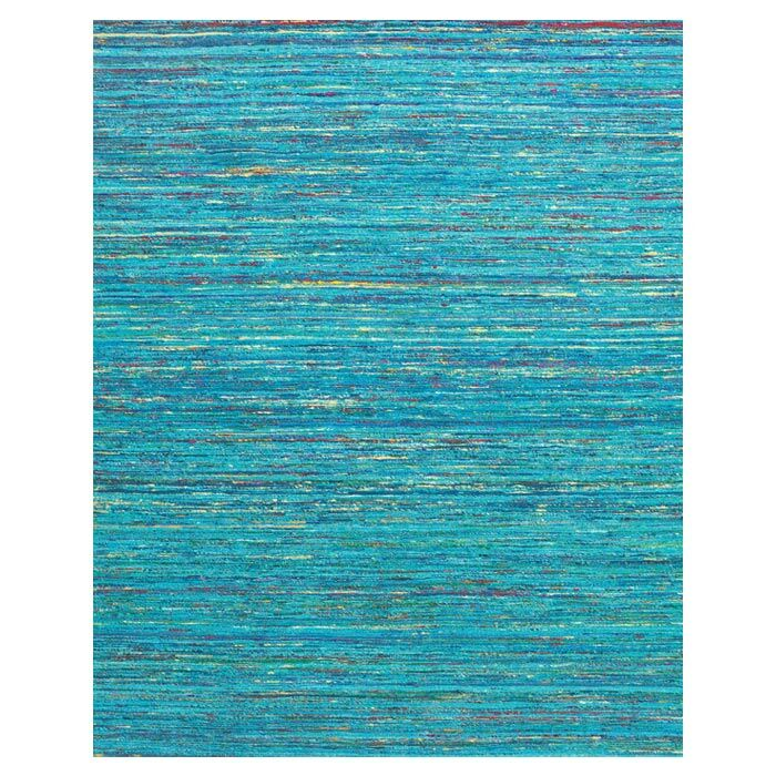 Tieast Hand Woven Blue Area Rug Rug Size: Rectangle 8' x 11'