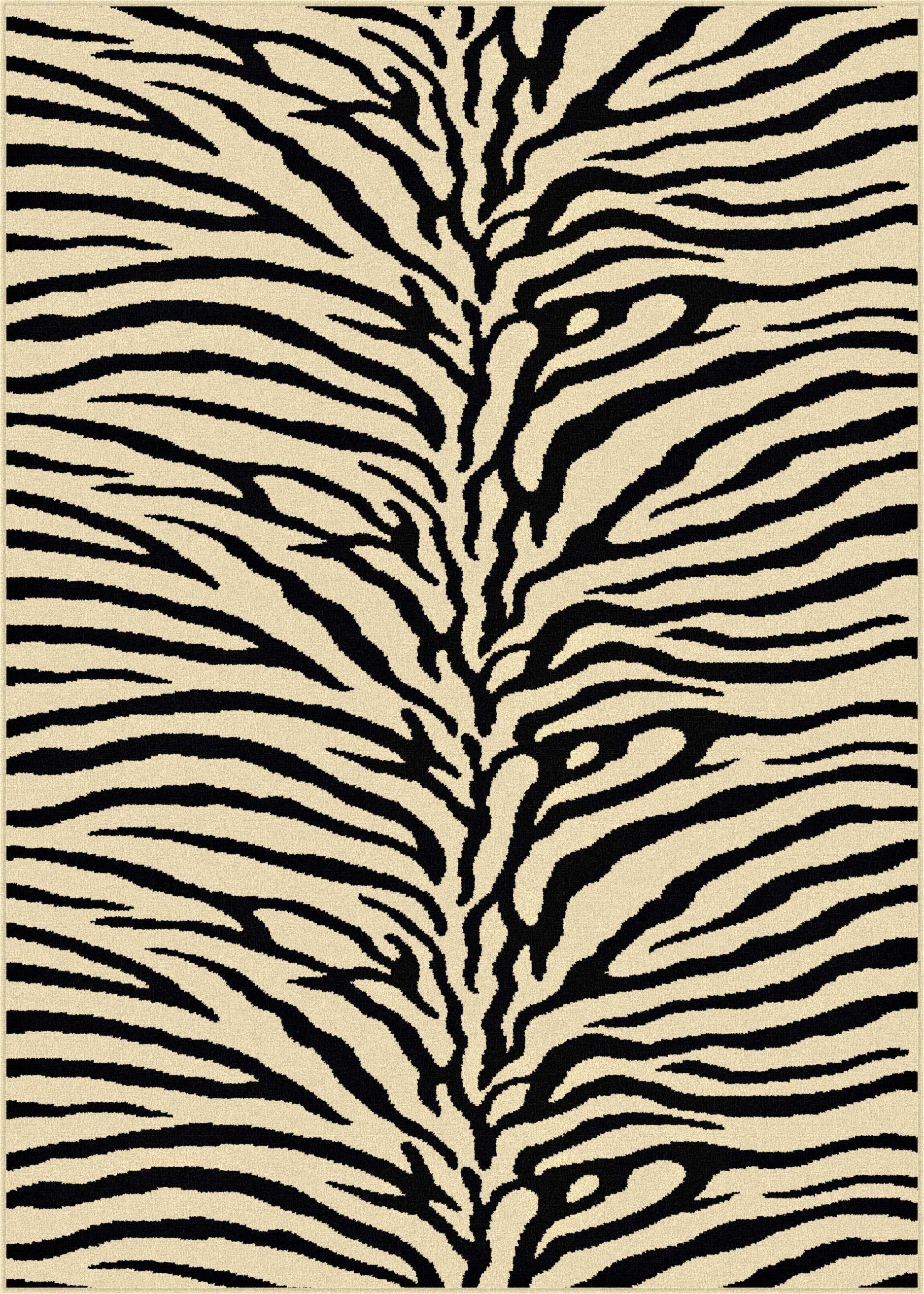Pembroke Pines Beige Animal Oval Area Rug Rug Size: 7'10'' Round