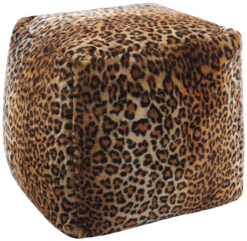 Saavedra Leopard Floor Pillow