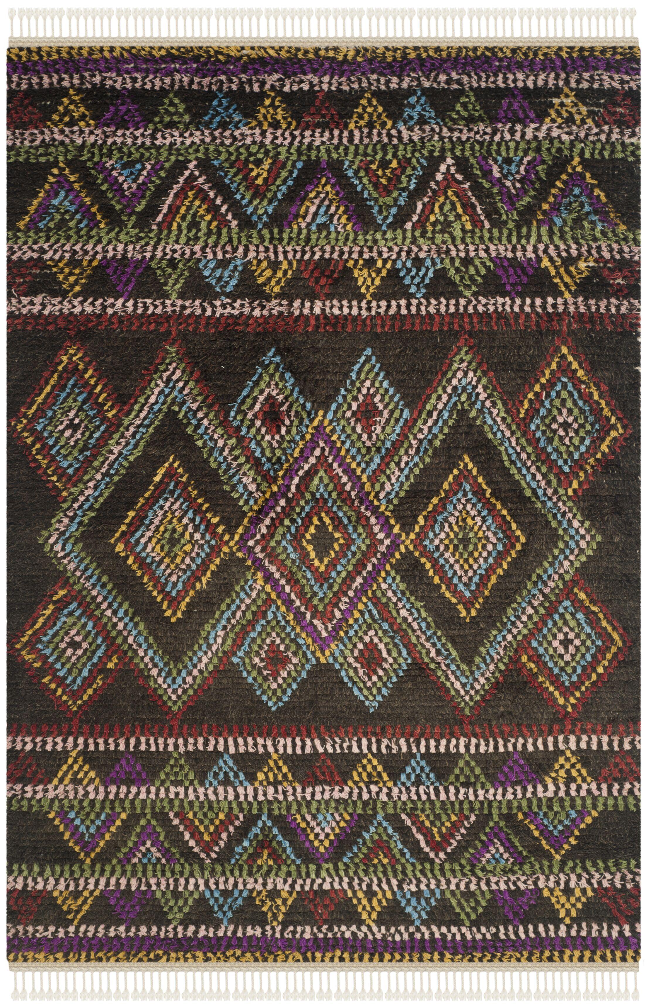 Glenoe Multi Geometric Rug Rug Size: Rectangle 6' x 9'