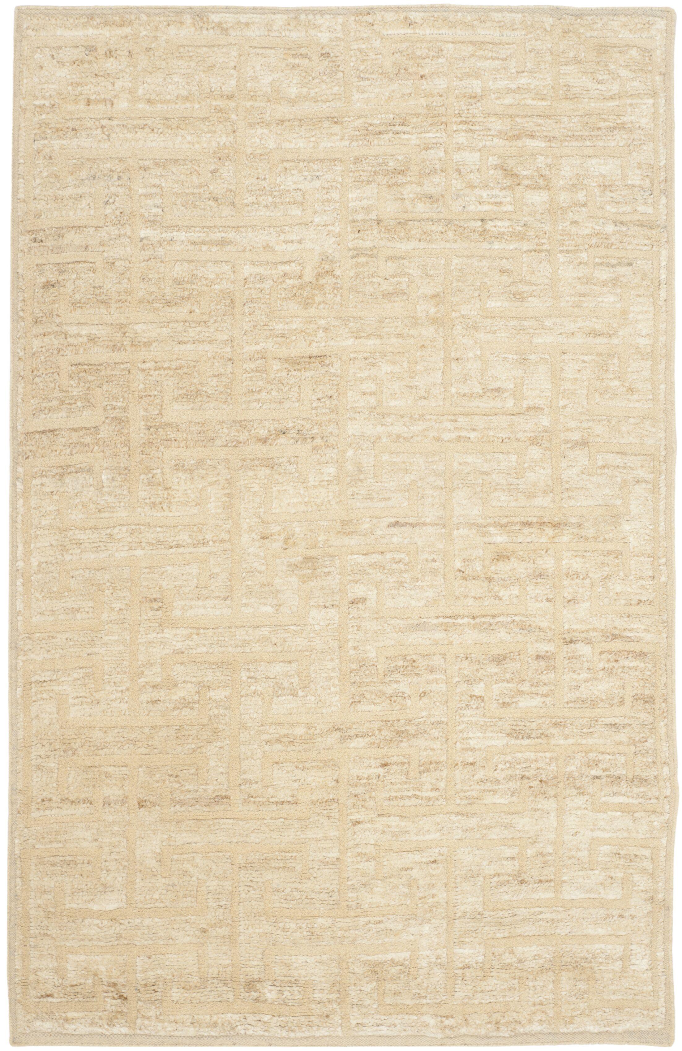 Elise Ivory/Beige Area Rug Rug Size: Rectangle 8' x 10'