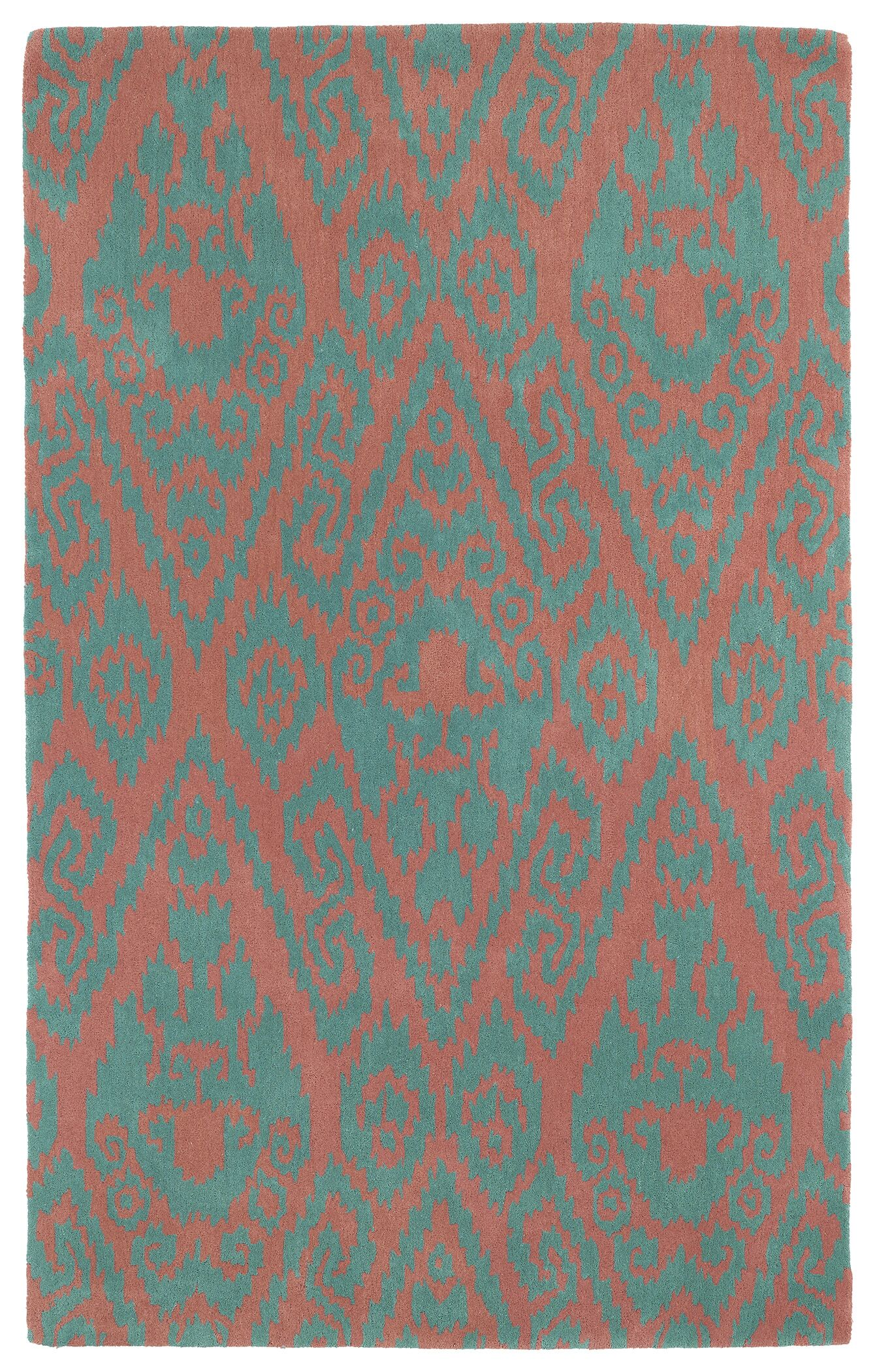 Roskilde Watermelon Area Rug Rug Size: Rectangle 5' x 7'9