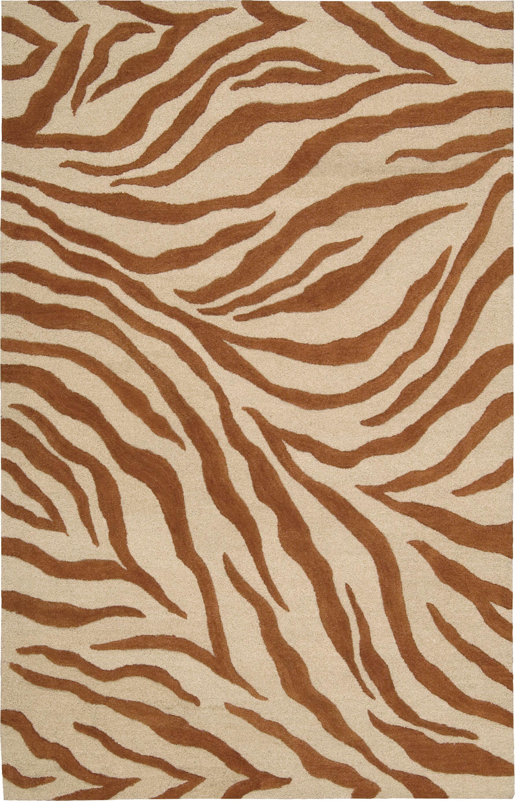 Goulmima Ivory/Rust Area Rug Rug Size: Rectangle 8' x 11'