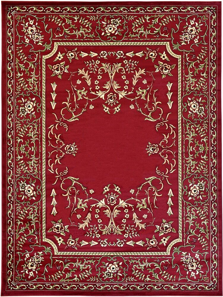 Littoral Red Area Rug Rug Size: Runner 3' x 16'5