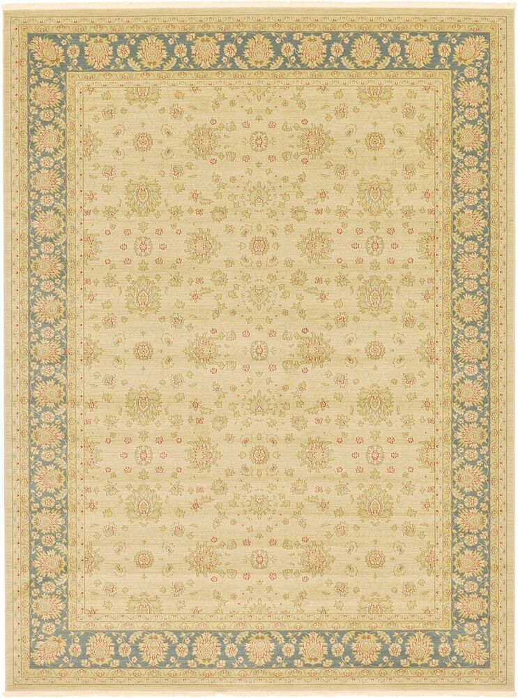 Fonciere Cream Area Rug Rug Size: Rectangle 8'2