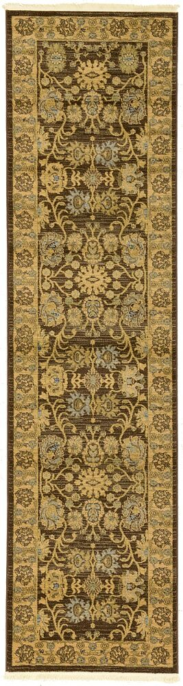 Fonciere Brown Area Rug Rug Size: Rectangle 5' x 8'