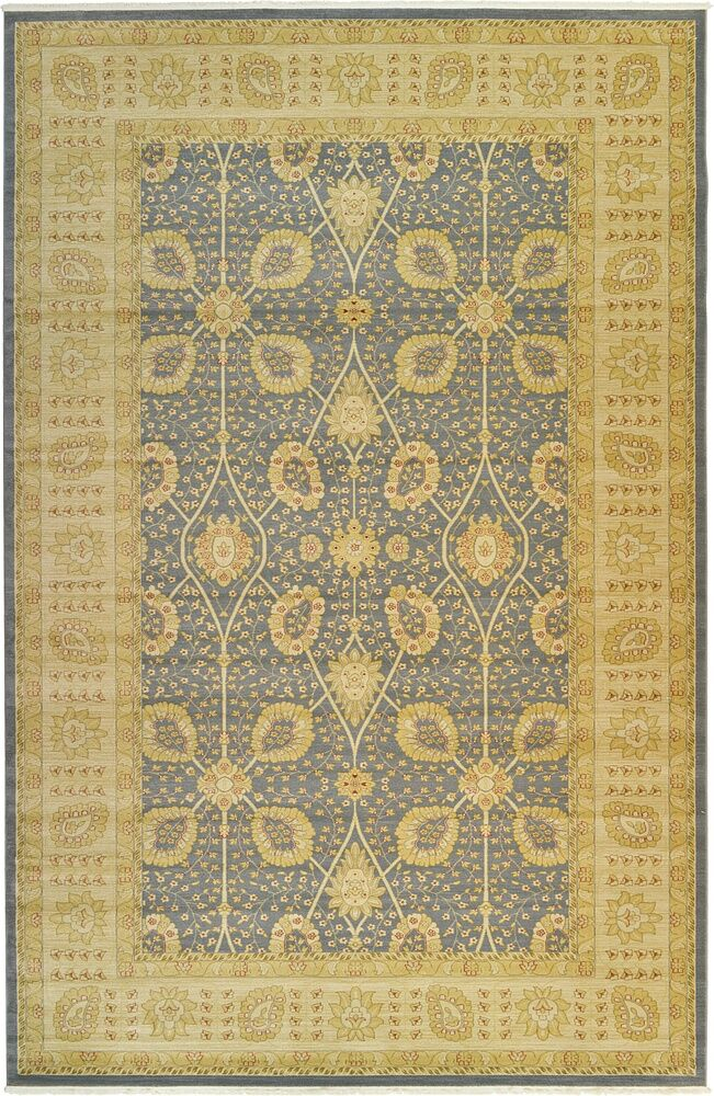 Willow Blue Area Rug Rug Size: Rectangle 7' x 10'