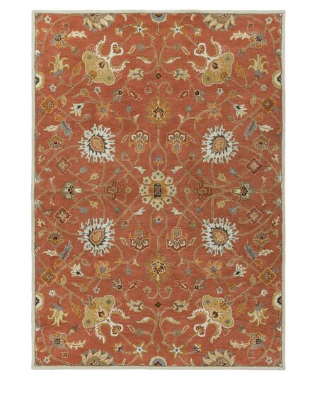 Topaz Butter Peanut Floral Area Rug Rug Size: Rectangle 12' x 15'