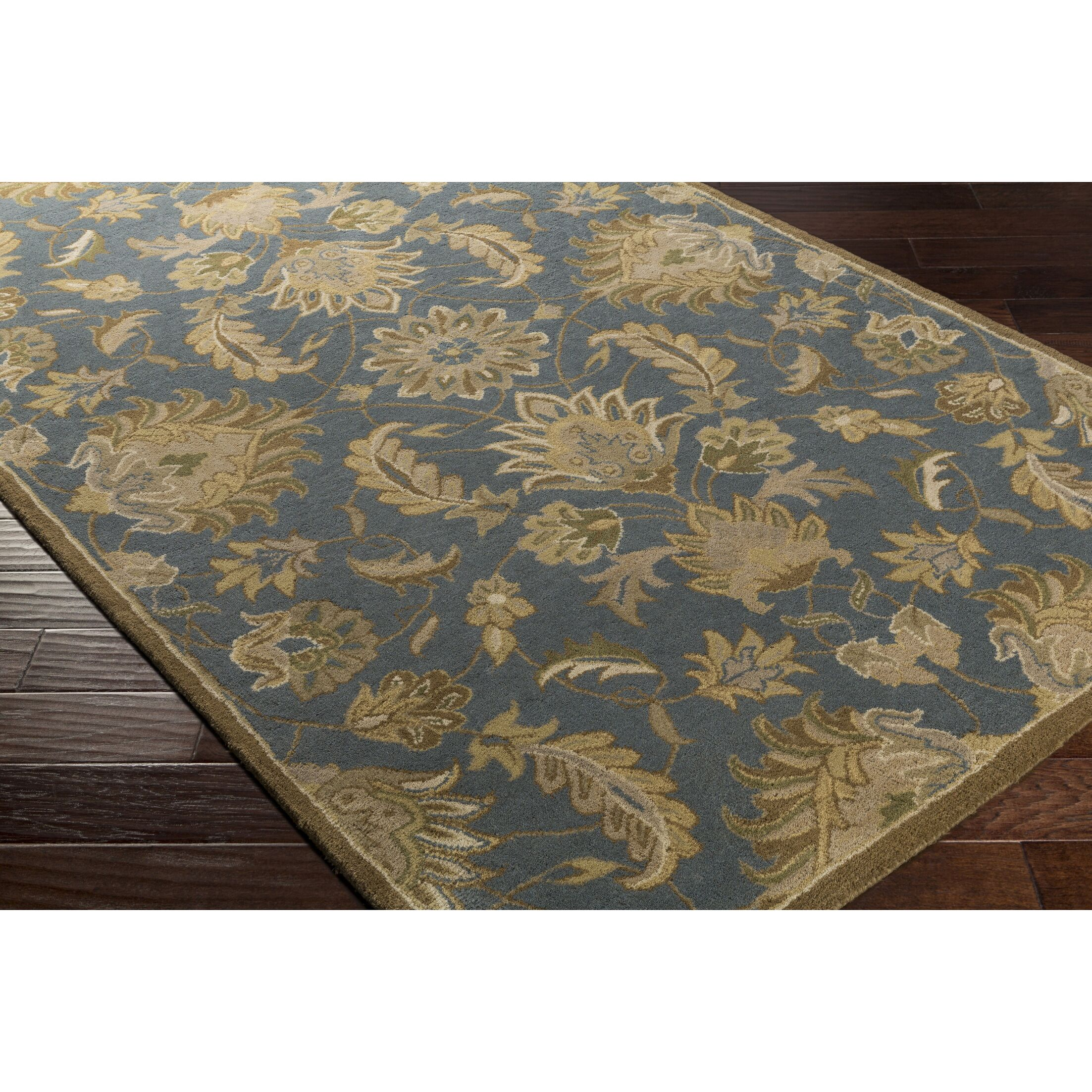 Topaz Hand-Tufted Area Rug Rug Size: Rectangle 10' x 14'