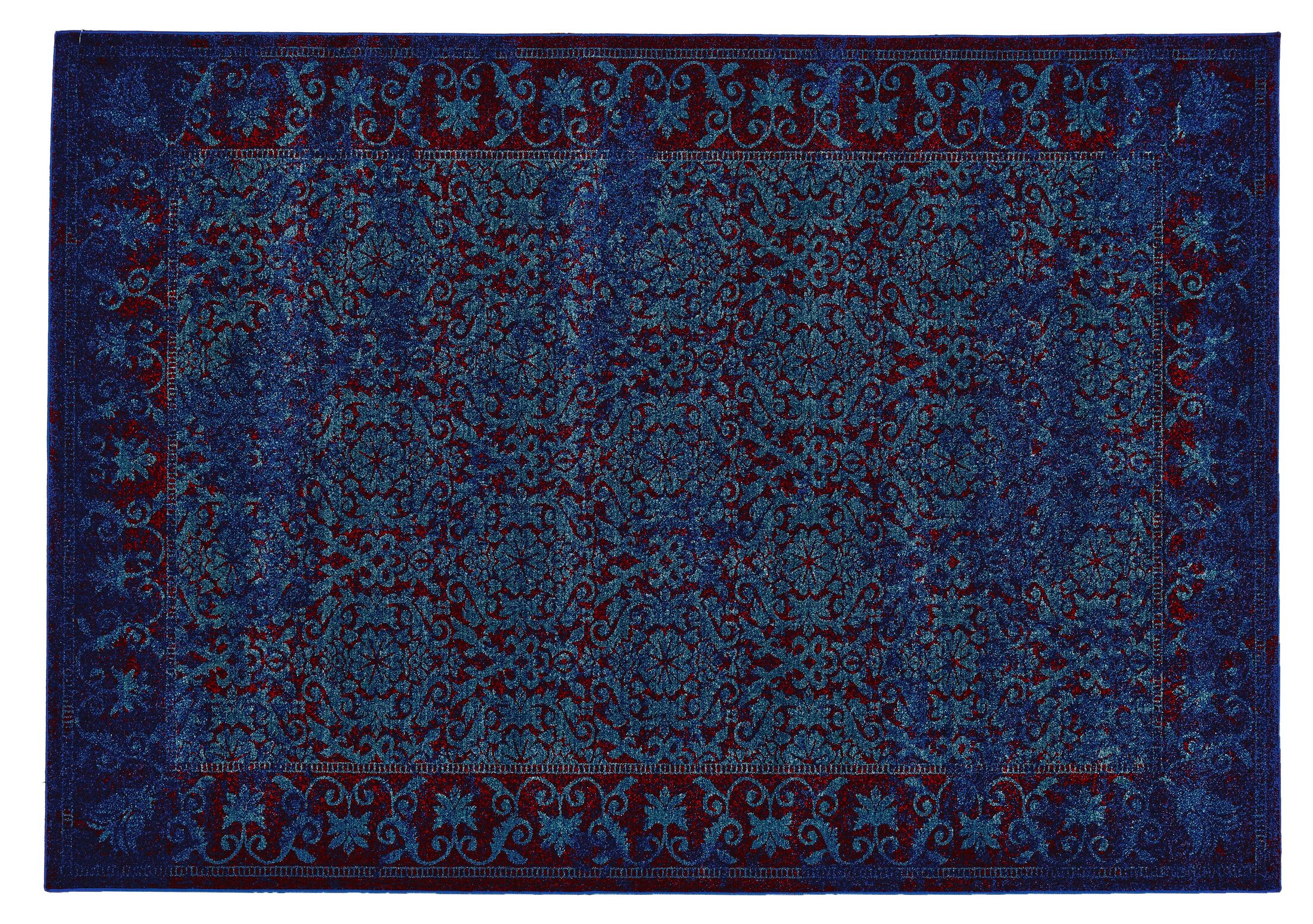 Yesica Traditional Area Rug Rug Size: Round 8'