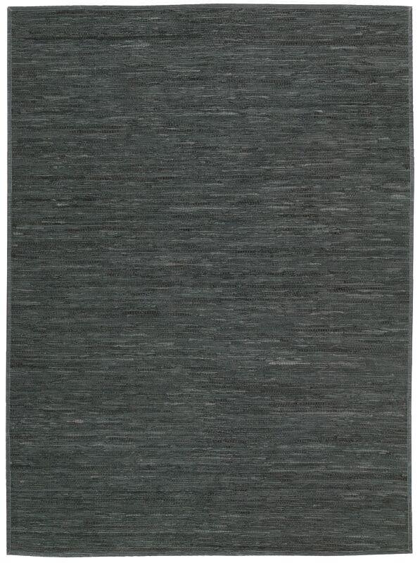 Santos Hand-Woven Dark Gray Area Rug Rug Size: Rectangle 5'3