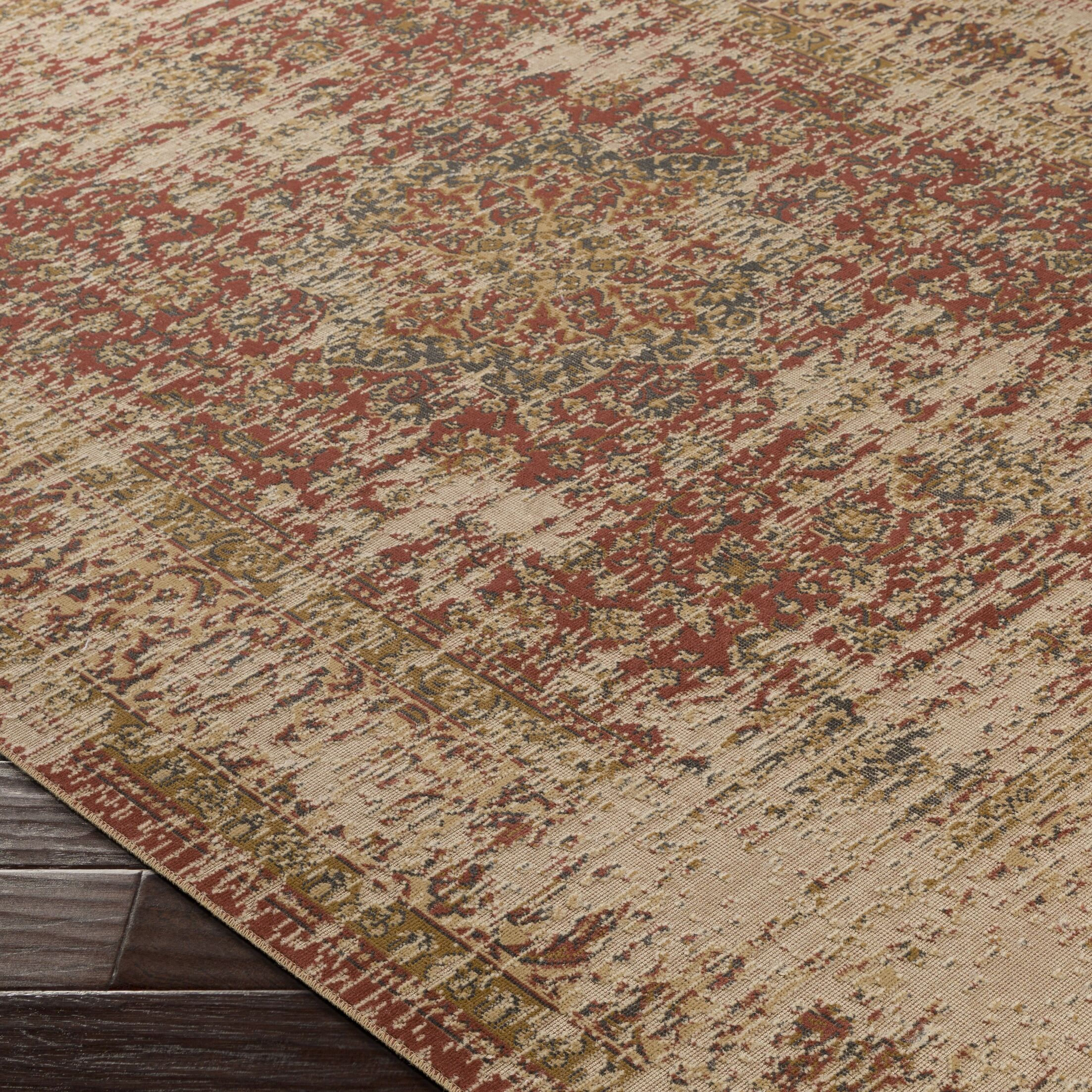 Cerys Brown Area Rug Rug Size: Rectangle 5'2
