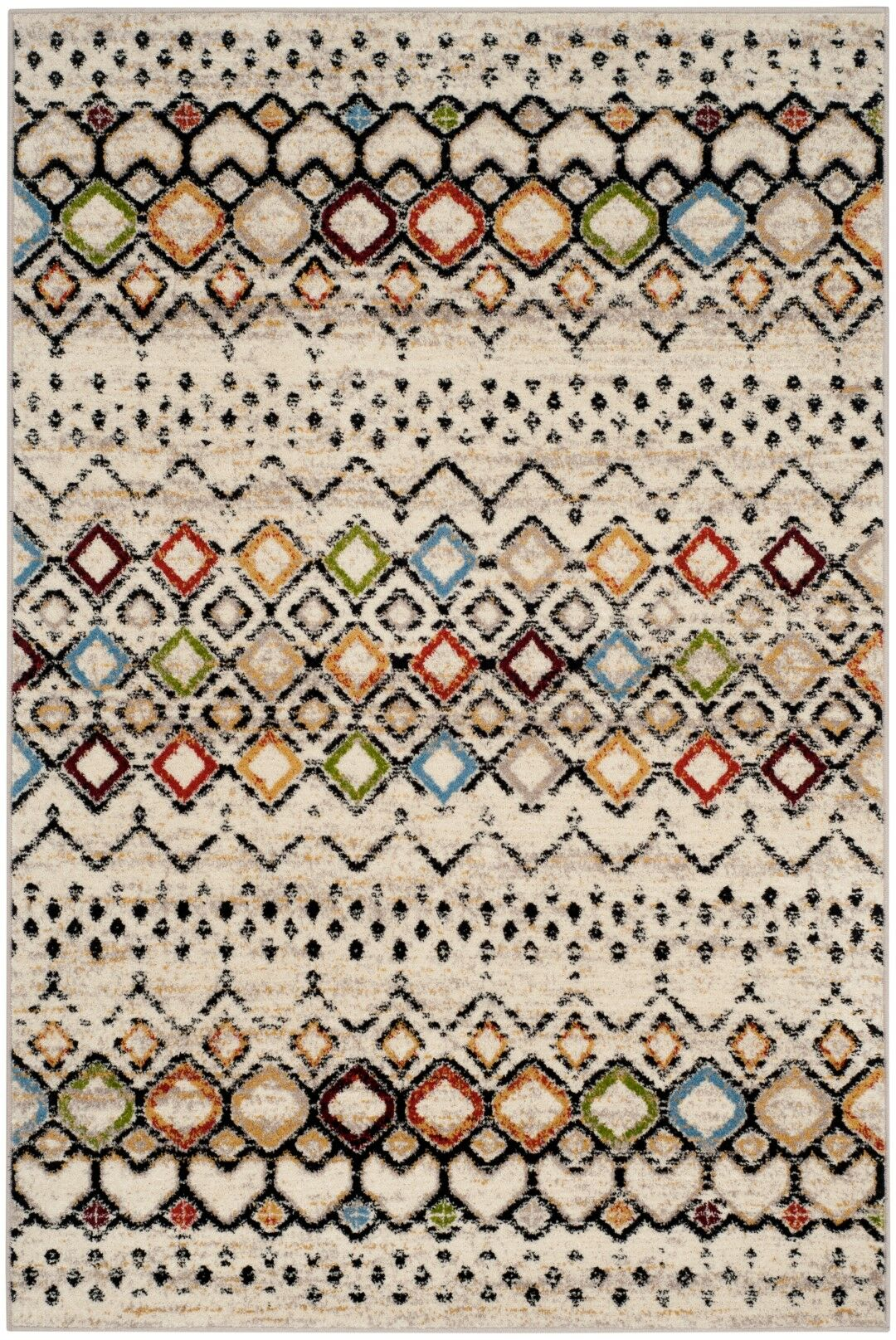 Vadim Ivory Area Rug Rug Size: Rectangle 11' x 15'