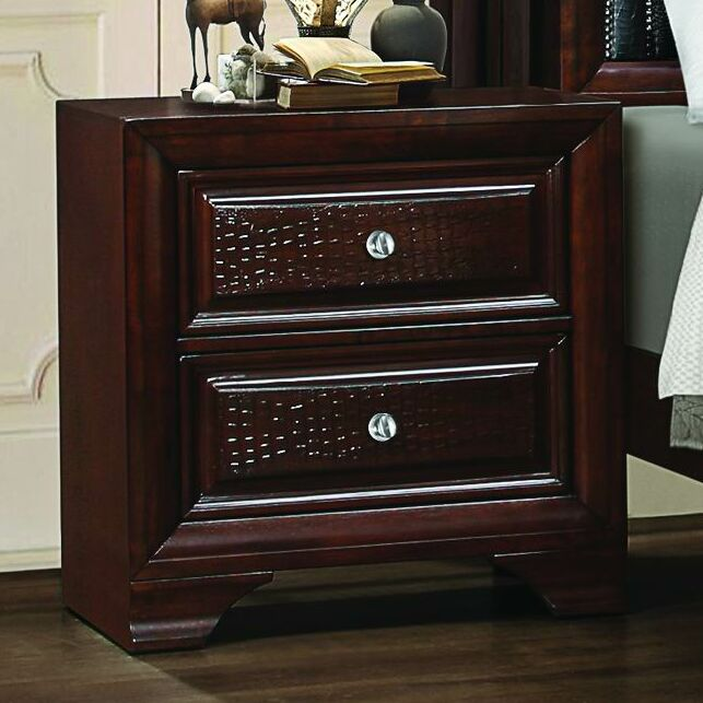 Beausejour 2 Drawer Nightstand