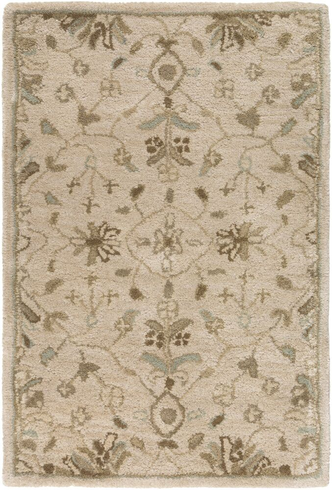 Topaz Beige Area Rug Rug Size: Rectangle 7'6