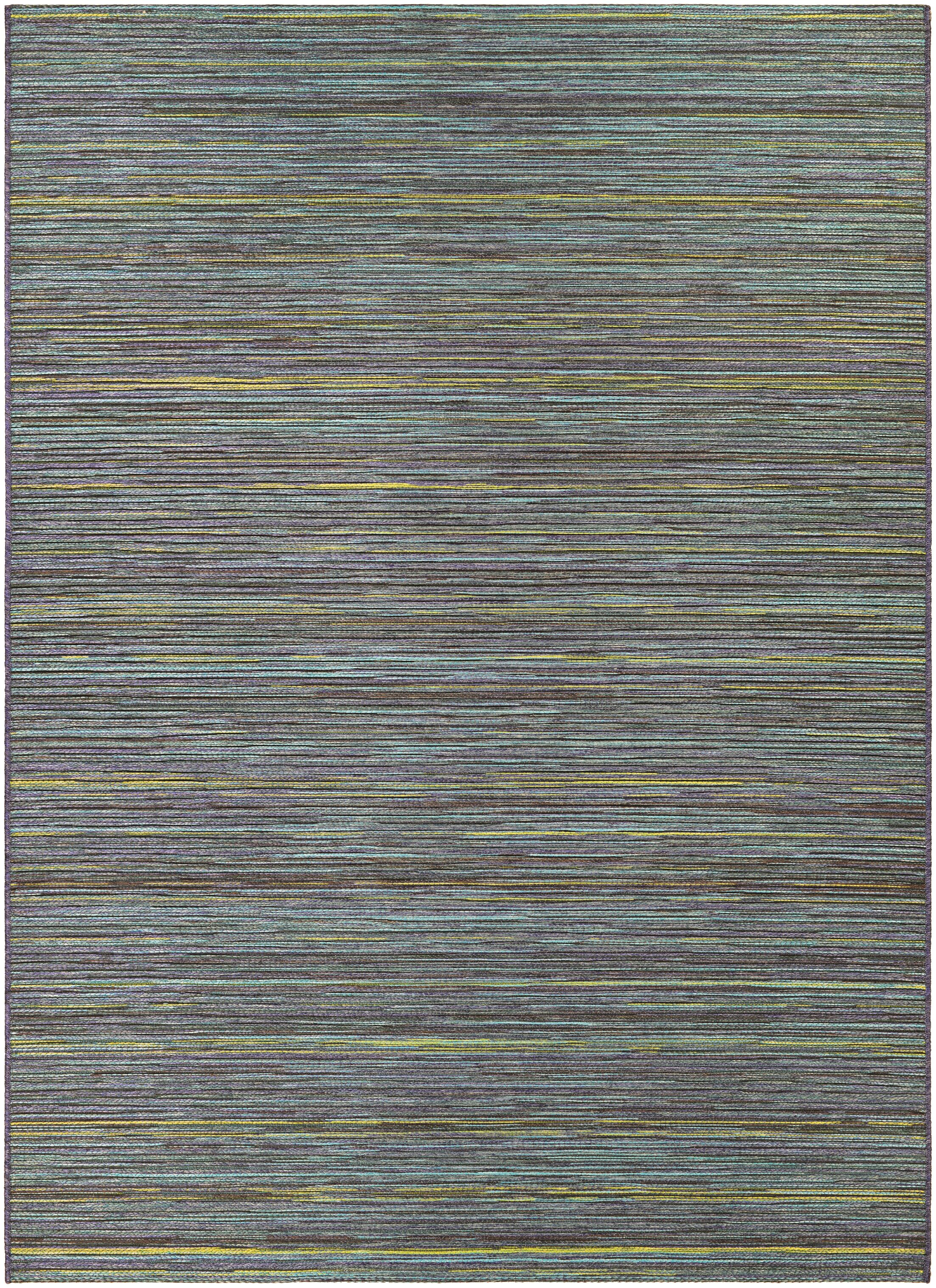 Amasa Teal/Cobalt Indoor/Outdoor Area Rug Rug Size: Rectangle 3'11