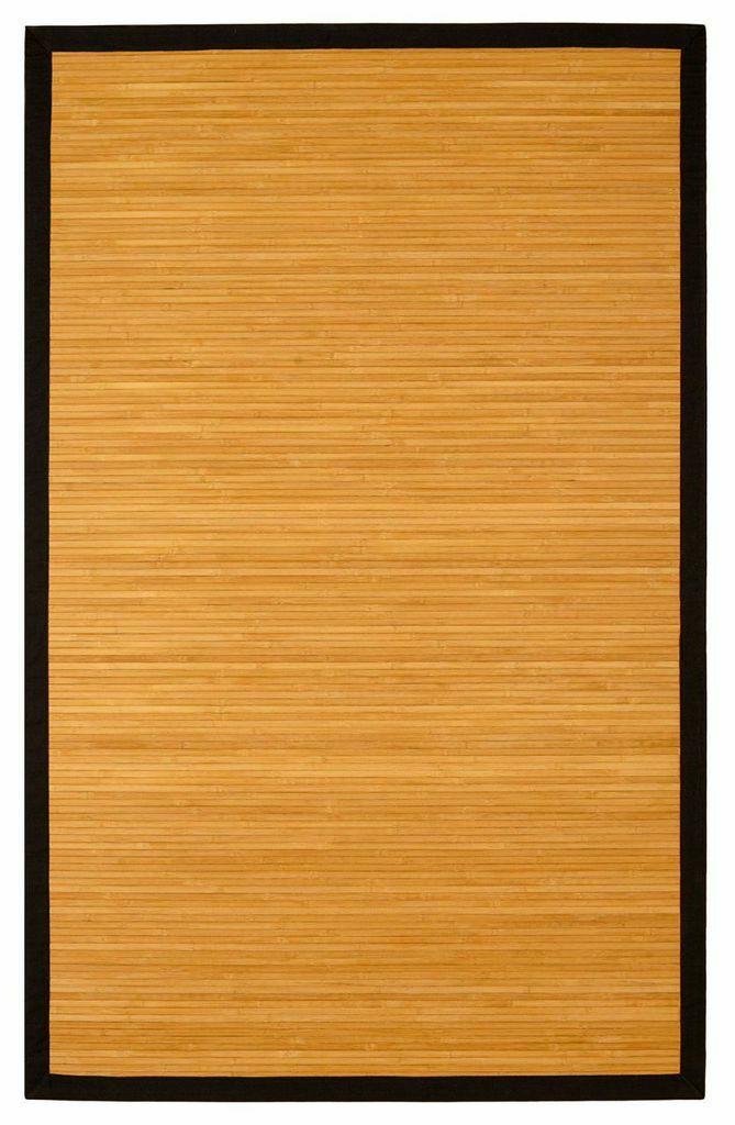 Govinda Natural Brown/Tan Area Rug Rug Size: Rectangle 4' x 6'