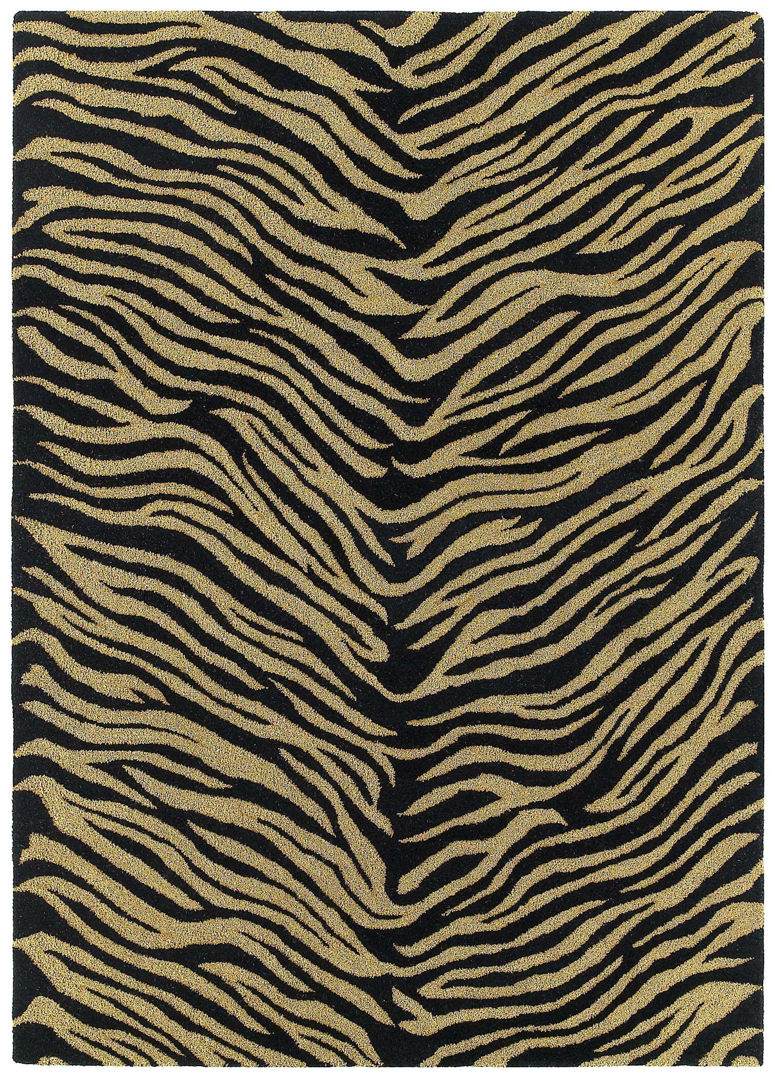 Fedna Ebony Rug Rug Size: Rectangle 9'6