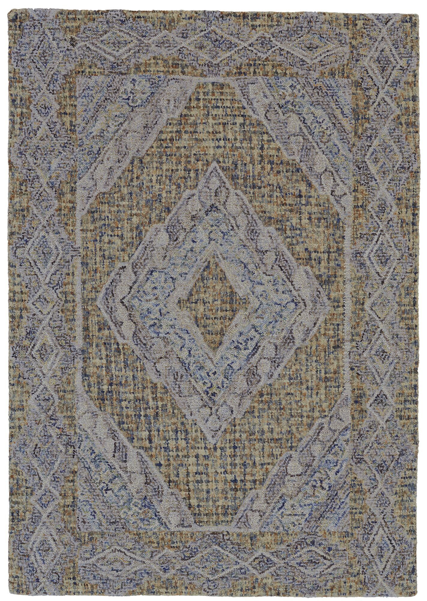 Haeli Hand-Tufted Area Rug Rug Size: Rectangle 8' x 11'