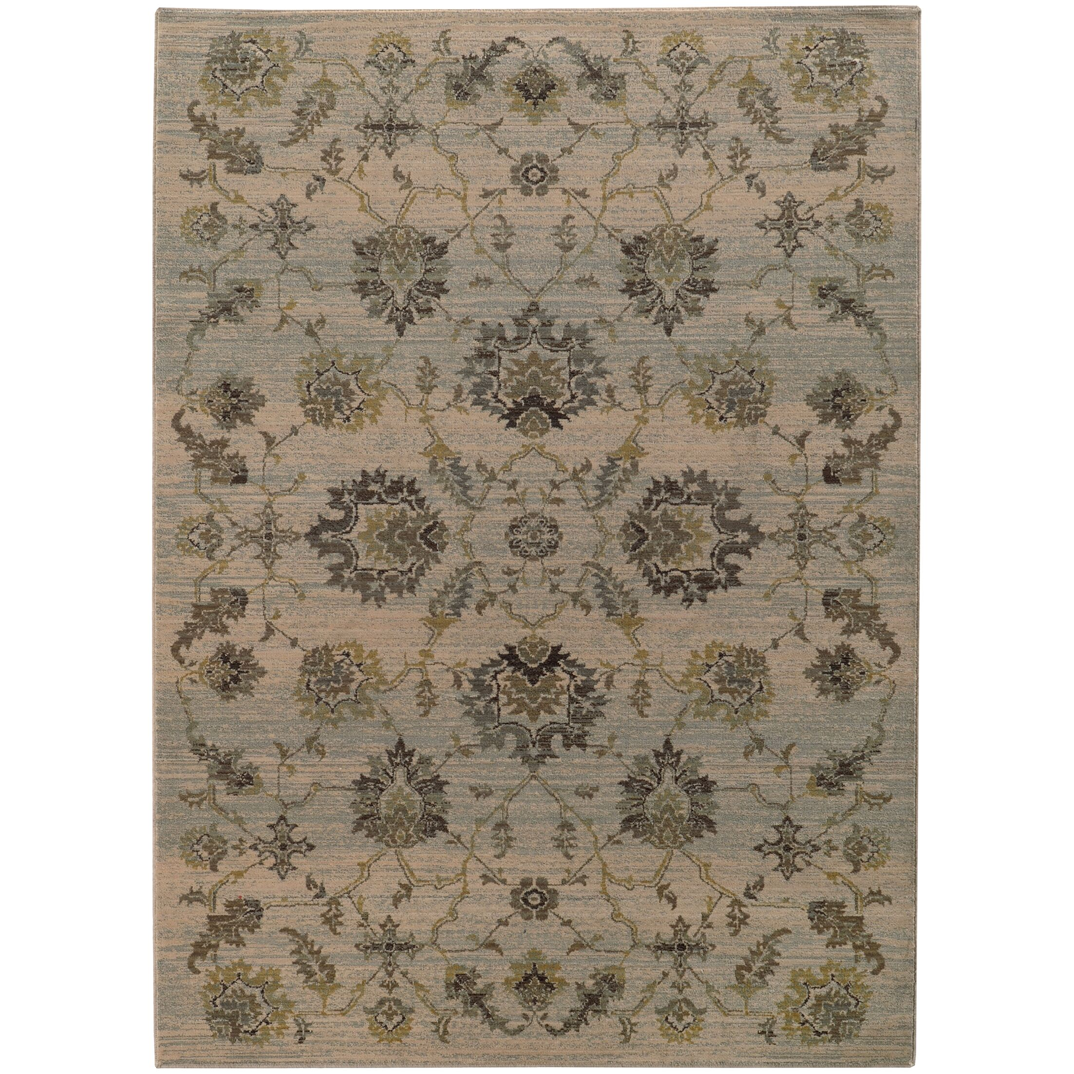 Gast Gray/Green Area Rug Rug Size: Rectangle 9'10