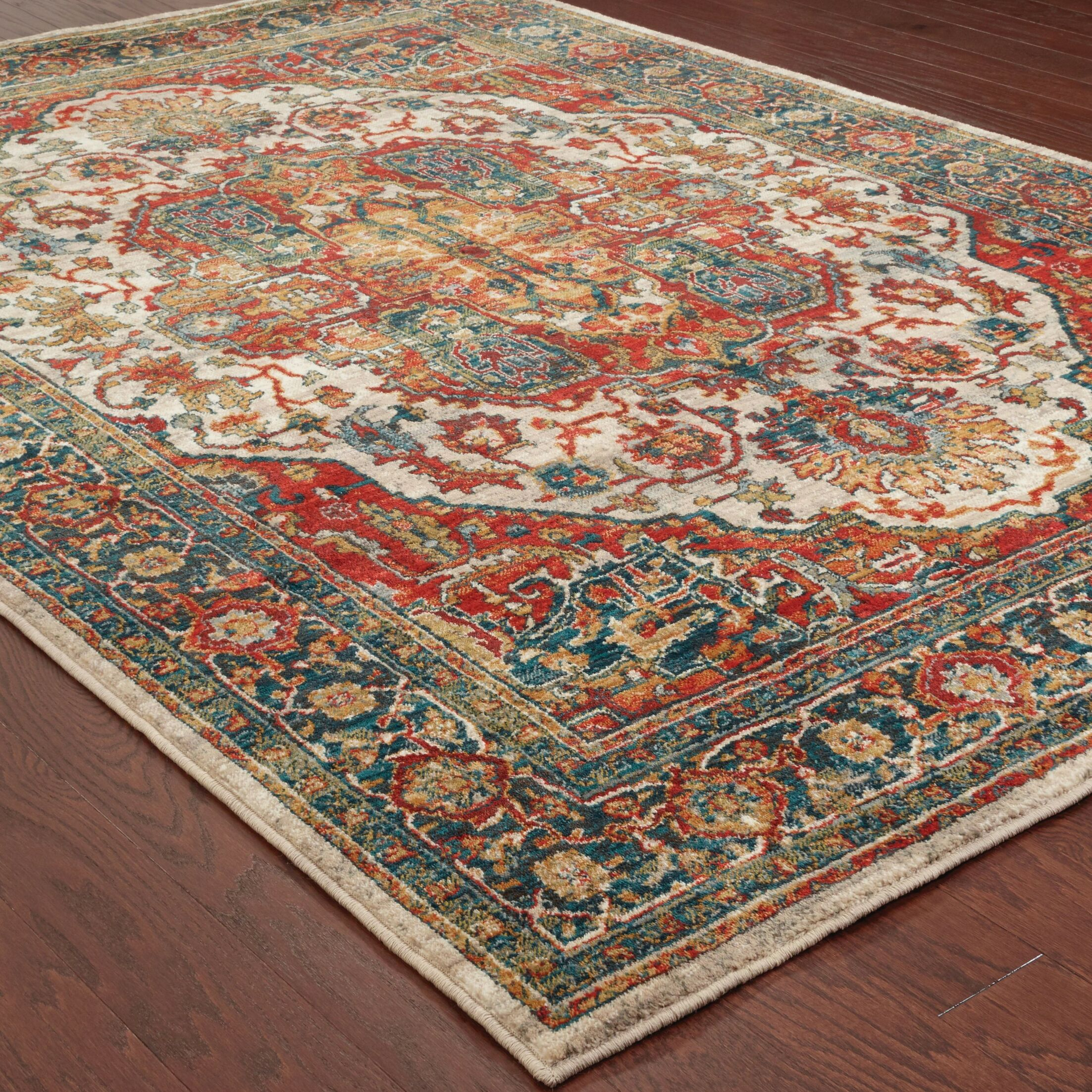 Knox Red Area Rug Rug Size: Runner 2'3