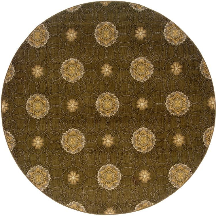 Sharyl Brown/Gold Area Rug Rug Size: Rectangle 3'10
