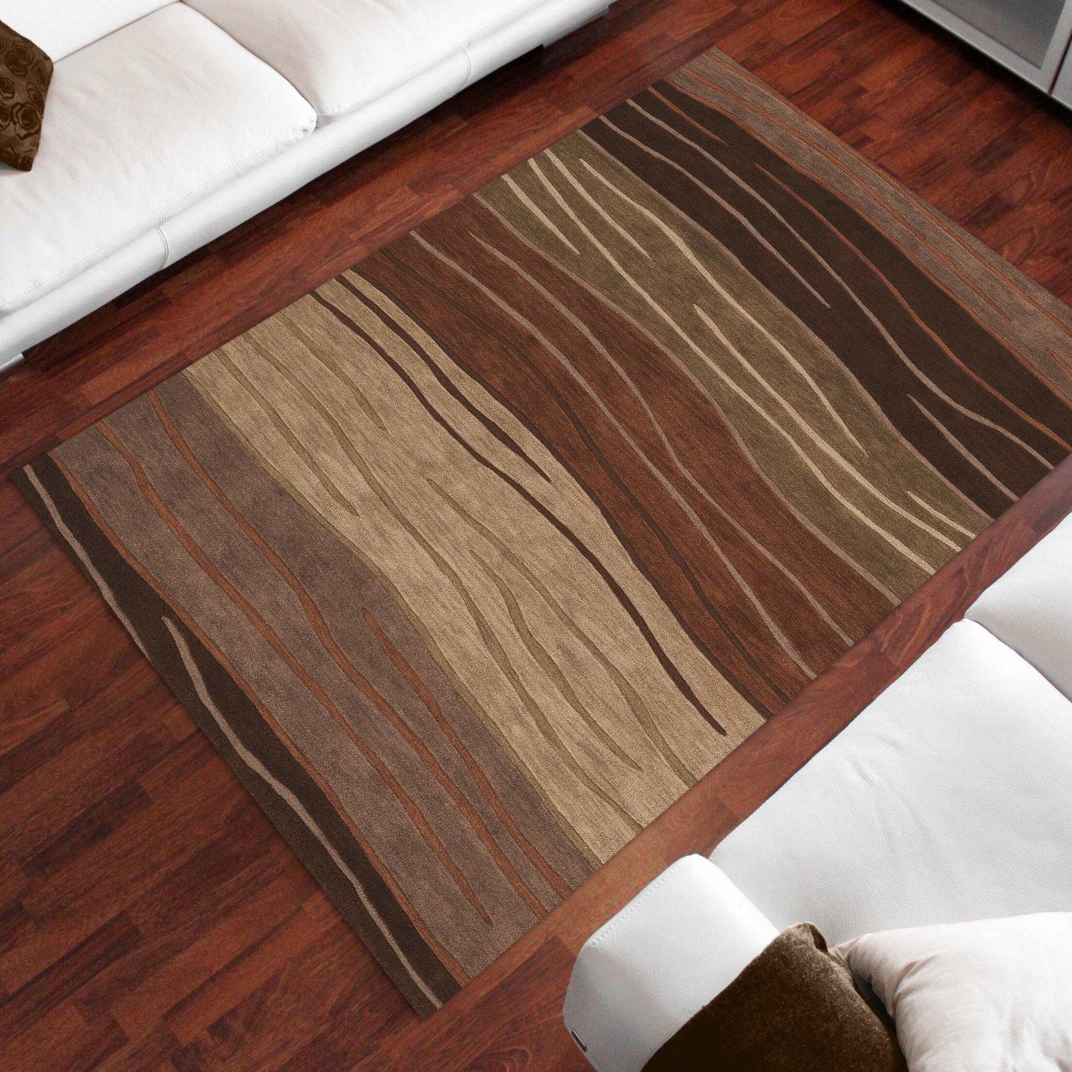 Sanders Autumn Area Rug Rug Size: Rectangle 5' x 7'9