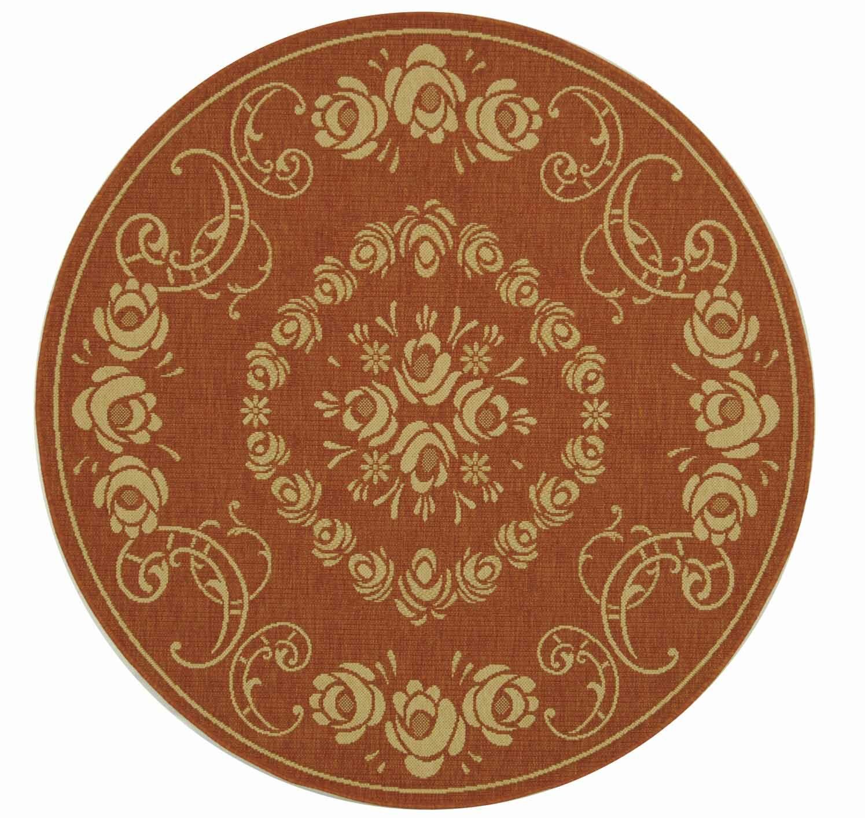Elisabeth Terra/Natural Outdoor Rug Rug Size: Rectangle 7'10