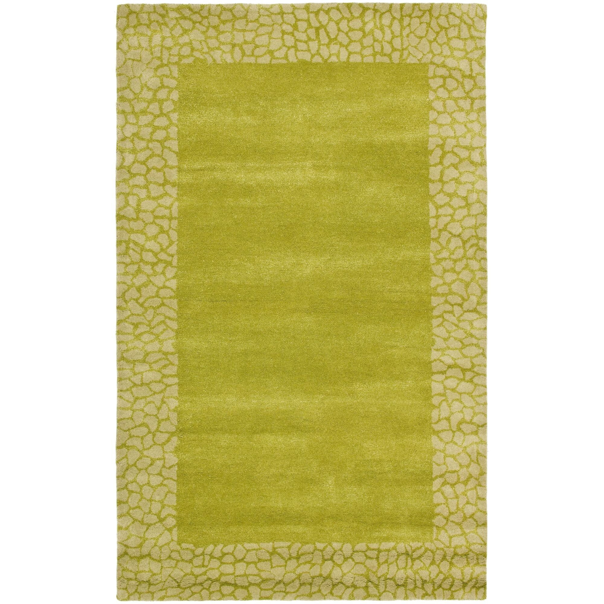 Dorthy Light Green Area Rug Rug Size: Rectangle 5' x 8'