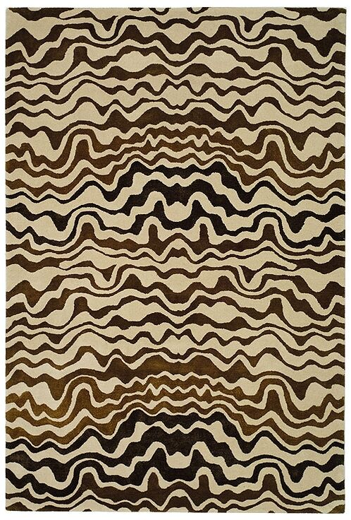 Chidi Beige/Brown Area Rug Rug Size: Rectangle 5' x 8'