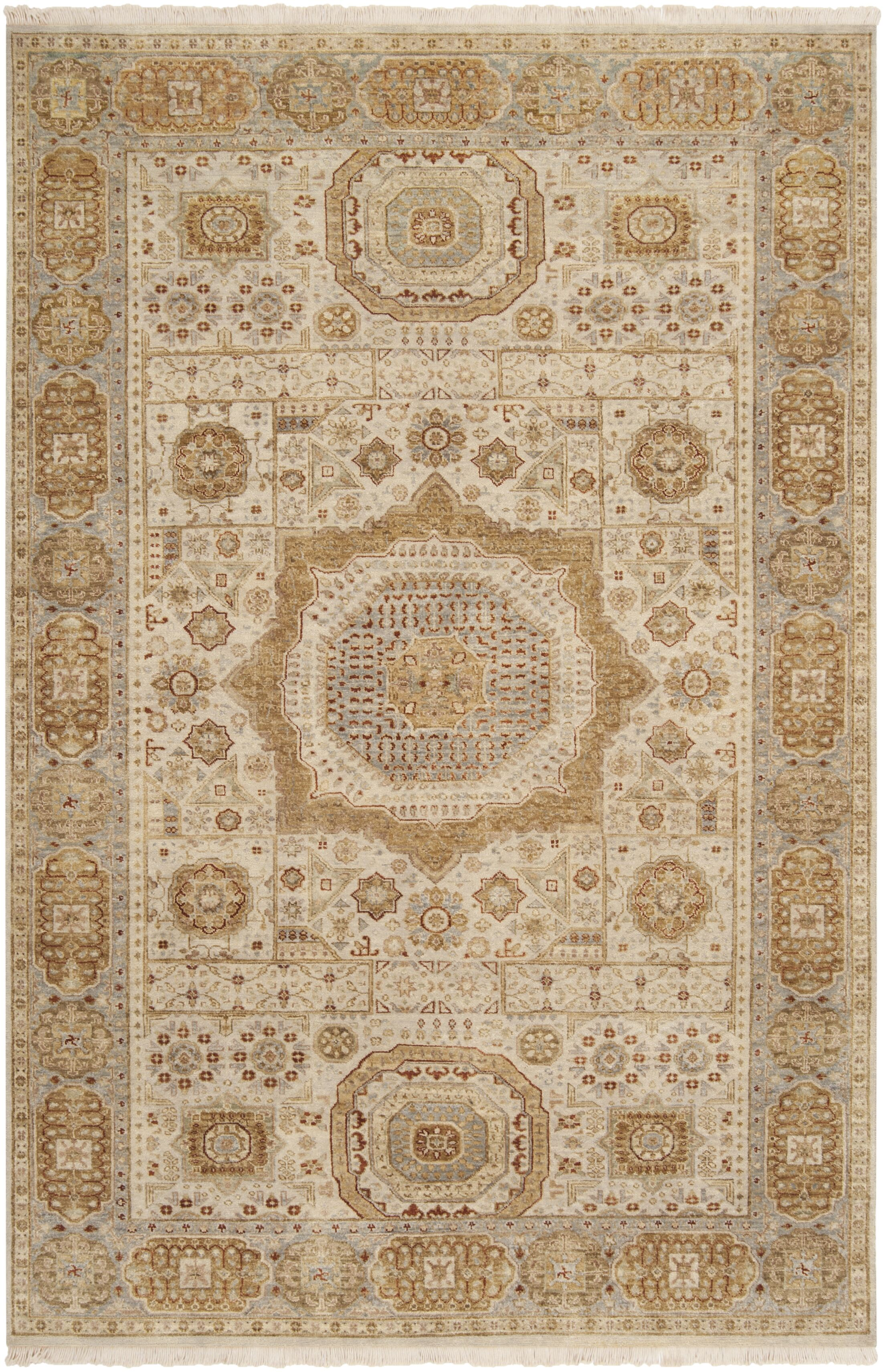 Cady Frappuccino / Ivory Area Rug Rug Size: Rectangle 5'6
