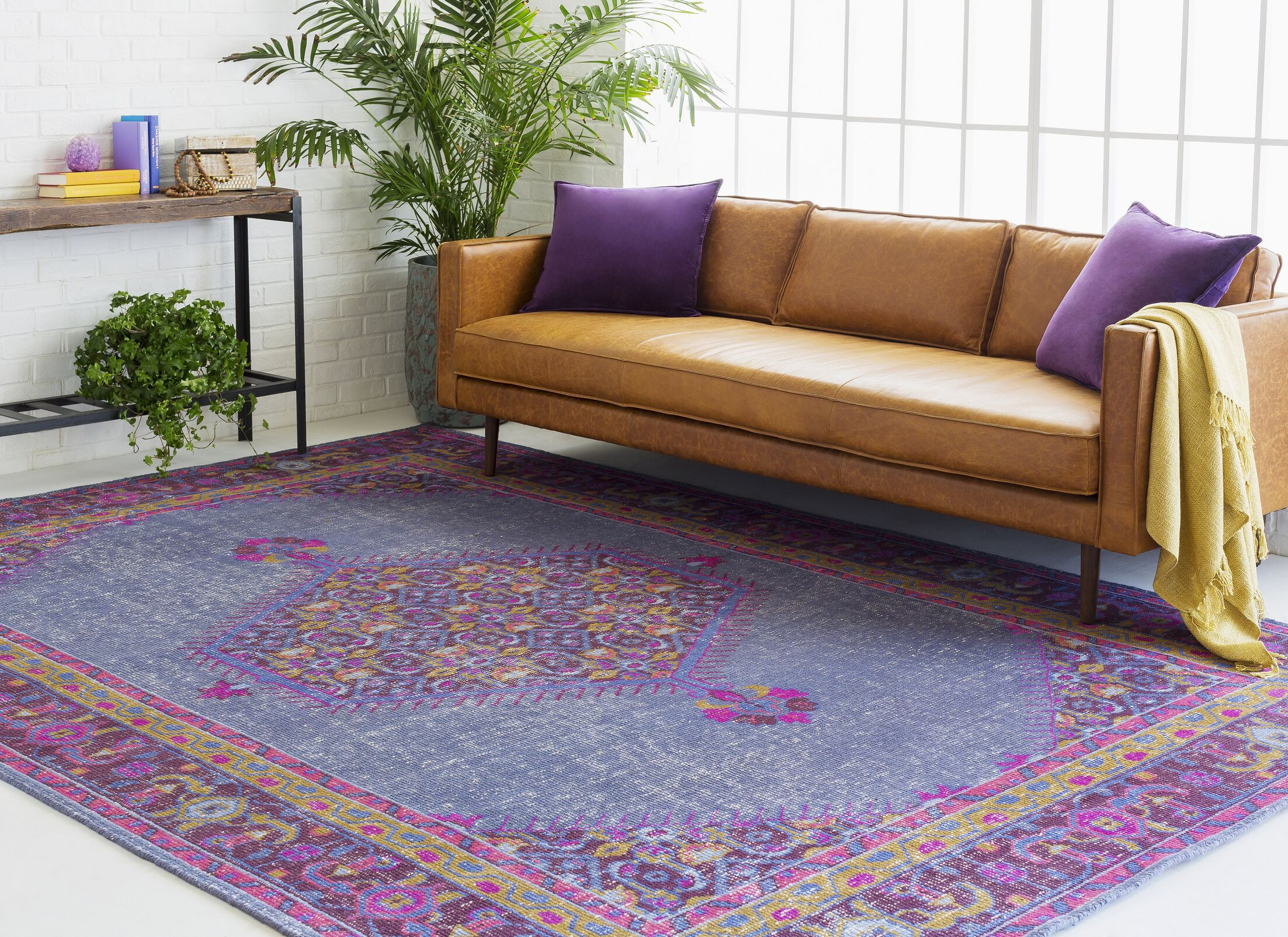 Fender Classic Iris Area Rug Rug Size: Rectangle 2' x 3'