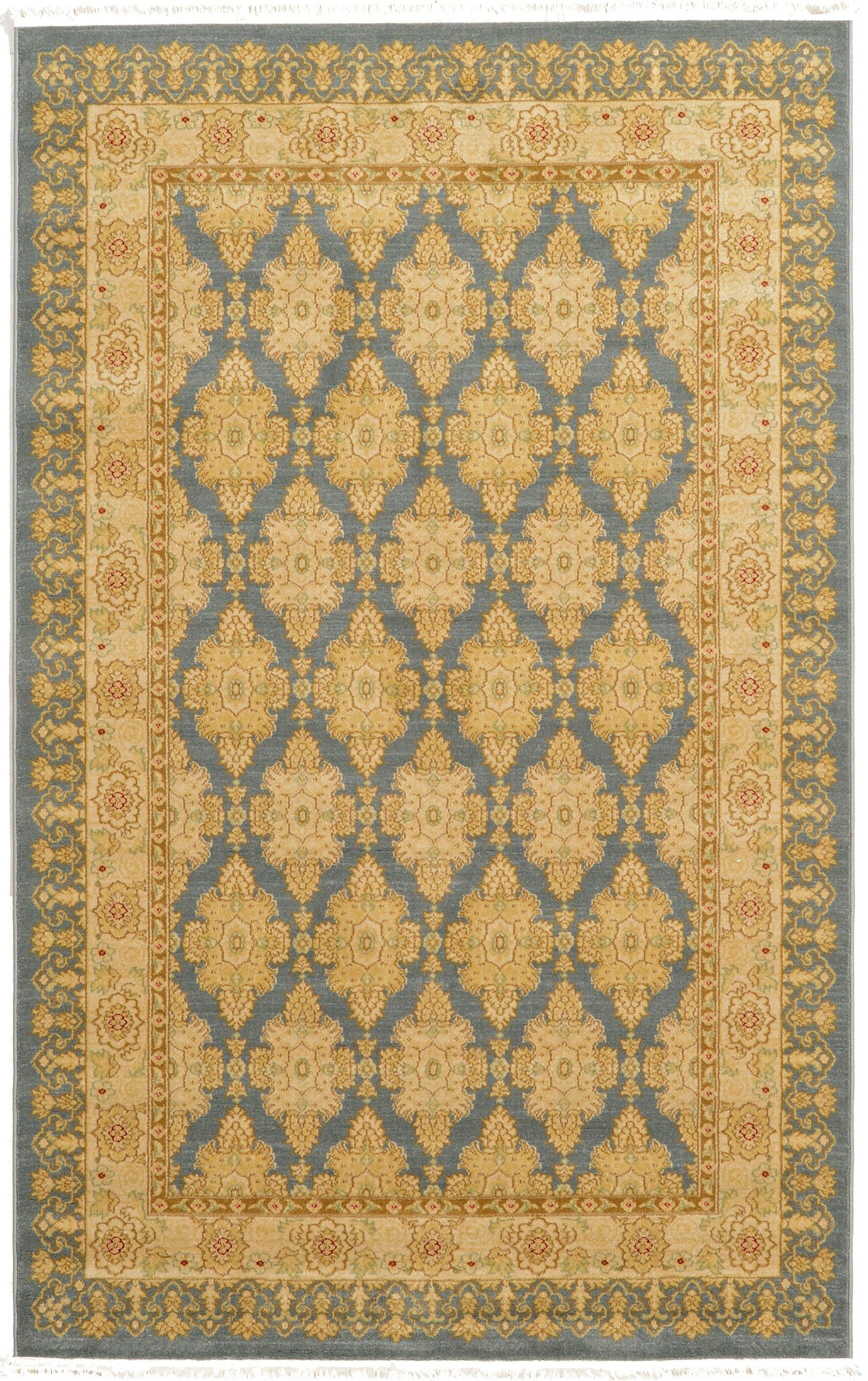 Britley Blue Area Rug Rug Size: Rectangle 5' x 8'